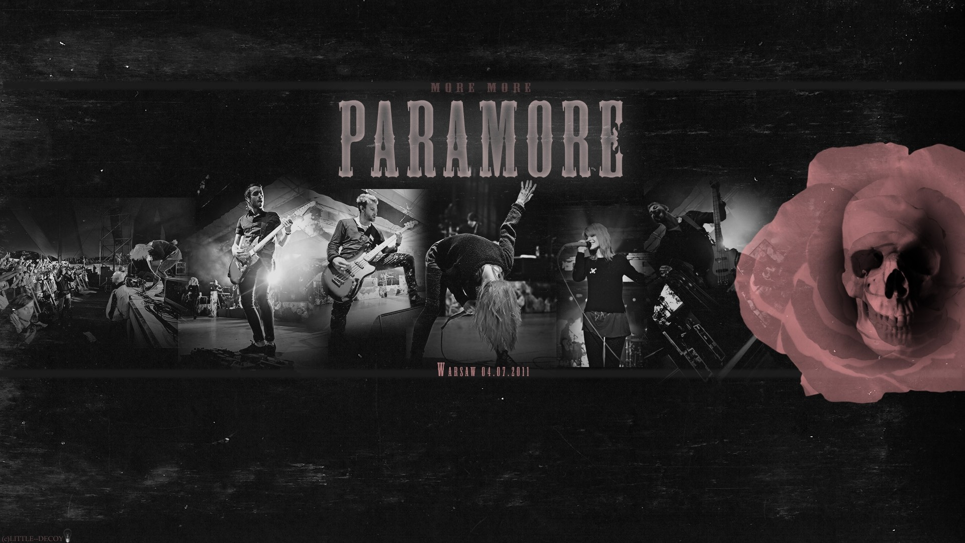 1920x1080 paramore, band, concert