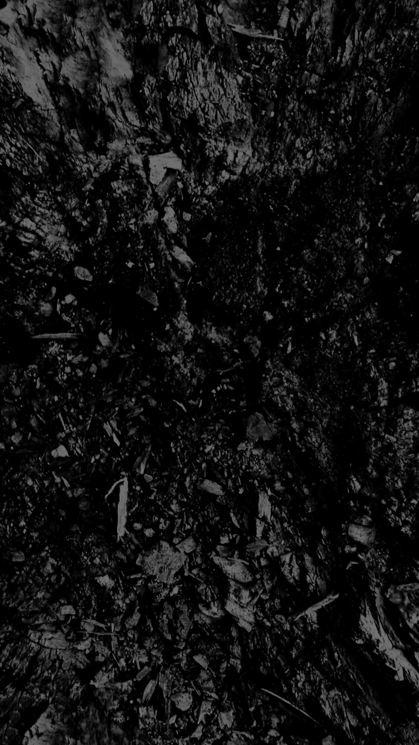 1440x2560 Preview wallpaper dark, black and white, abstract, black background