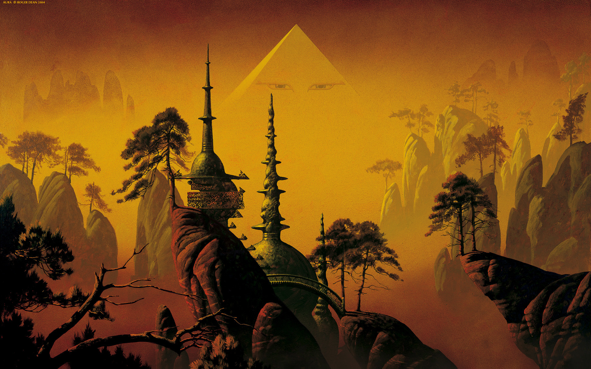1920x1200 Roger Dean Surreal Wallpapers