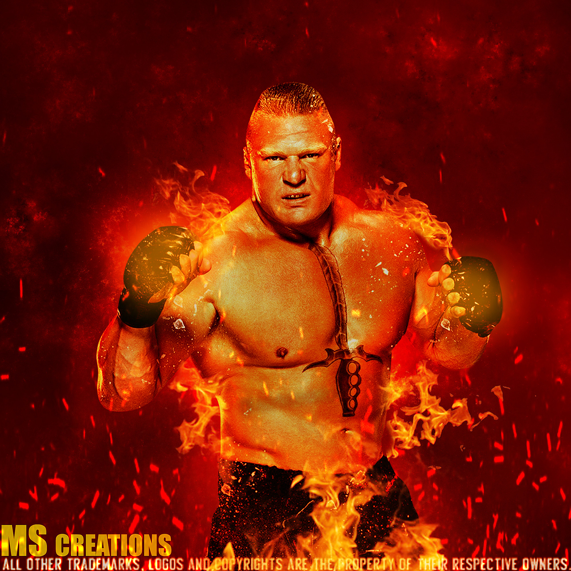 Brock Lesnar Logo Wallpapers (70+ Images