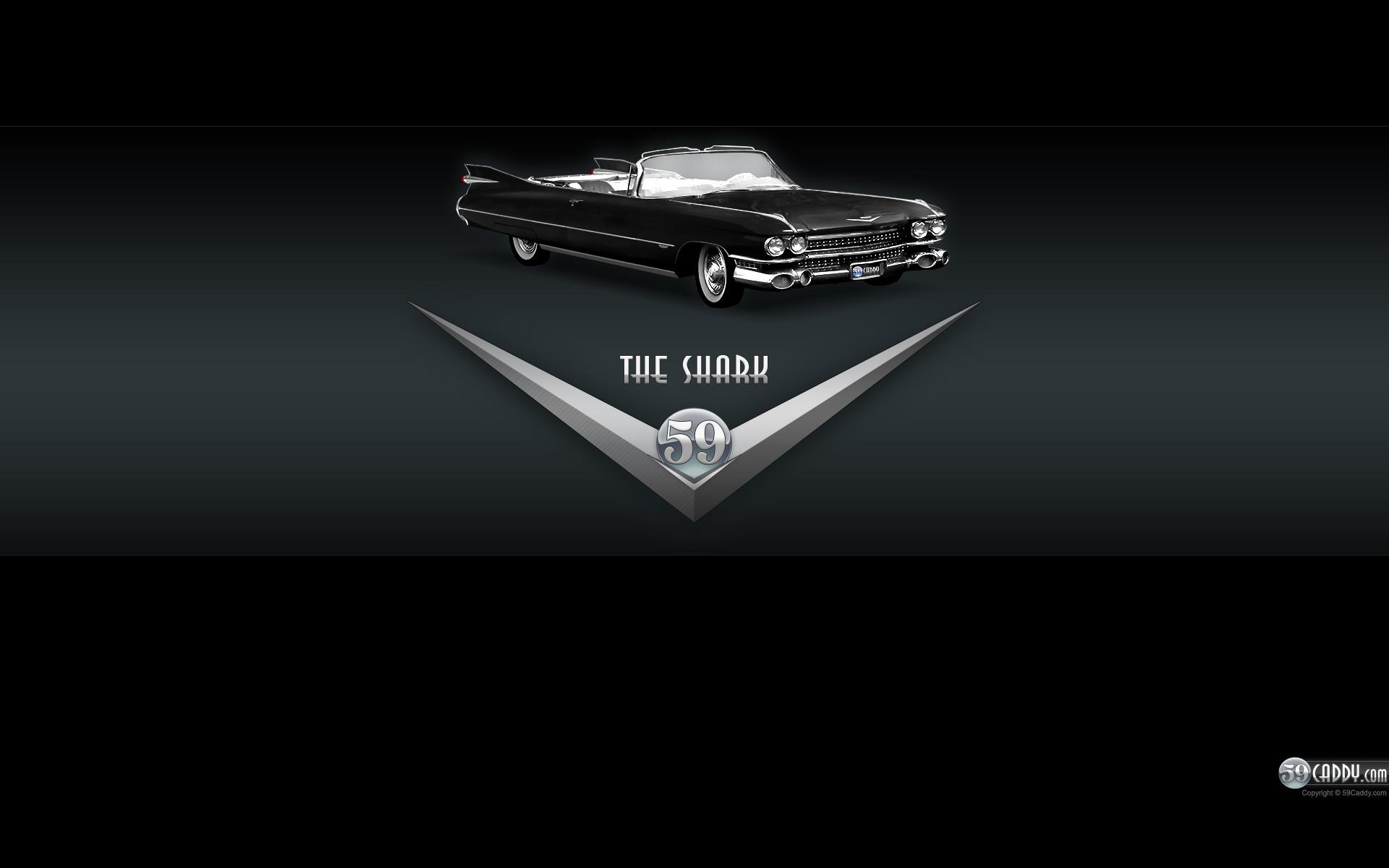 1920x1200 Cadillac Logo Black Wallpaper 1959