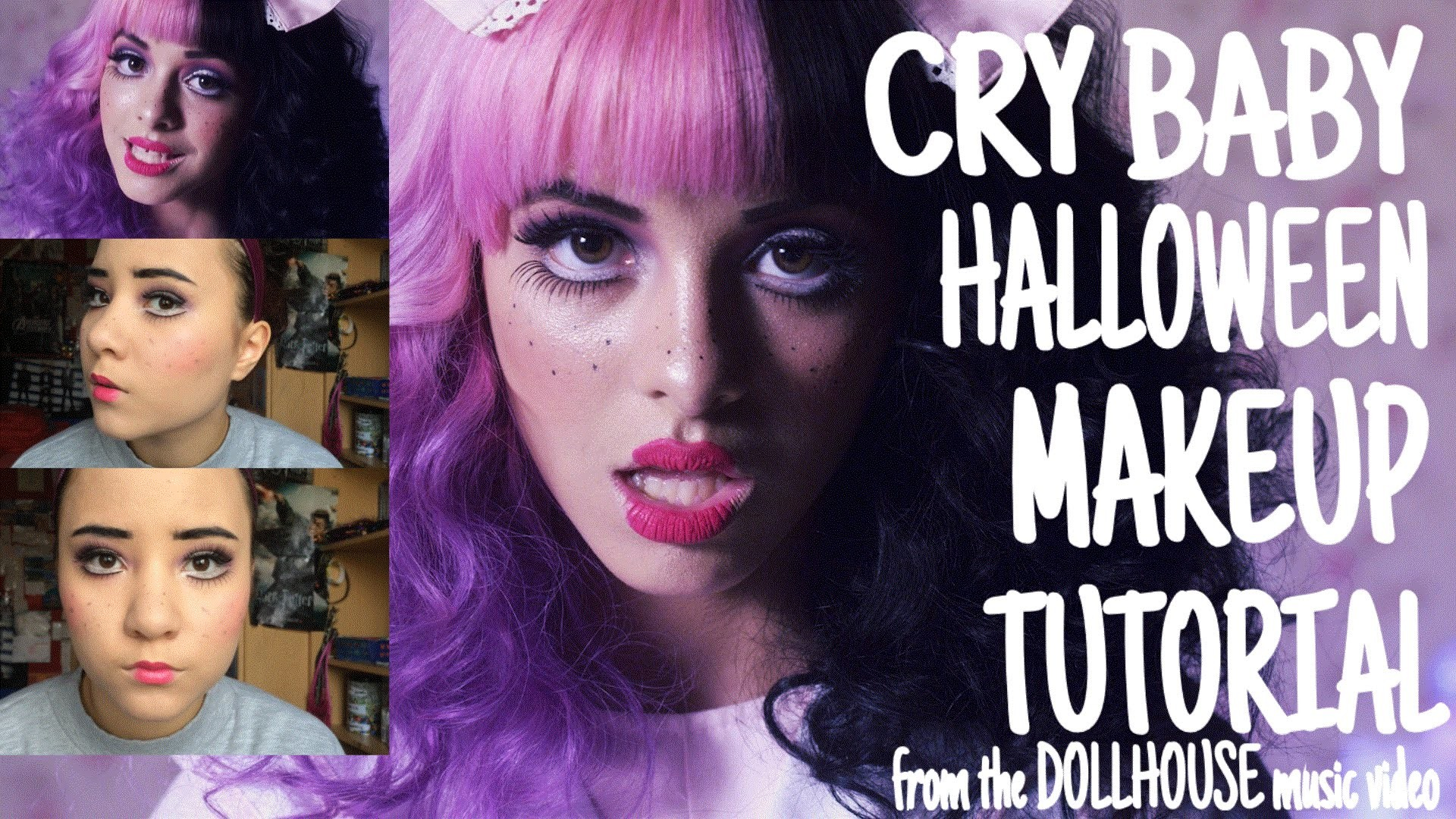 1920x1080 CRY BABY (Melanie Martinez - Dollhouse) // HALLOWEEN MAKEUP TUTORIAL -  YouTube