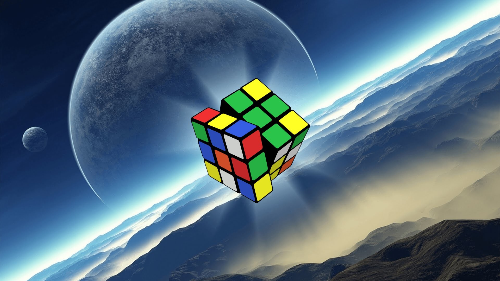 Robot Wall Sticker Rubiks Cube Wallpaper 76 Images