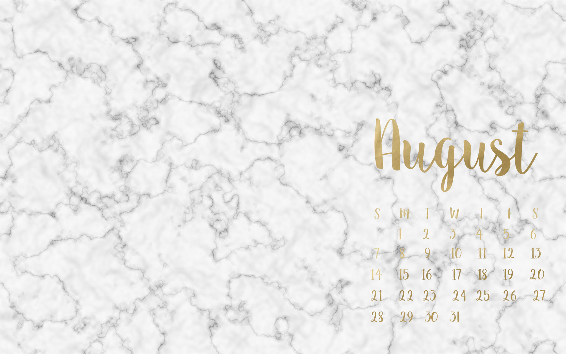 Marble Calendar Wallpaper November : Pink and gold desktop wallpaper images