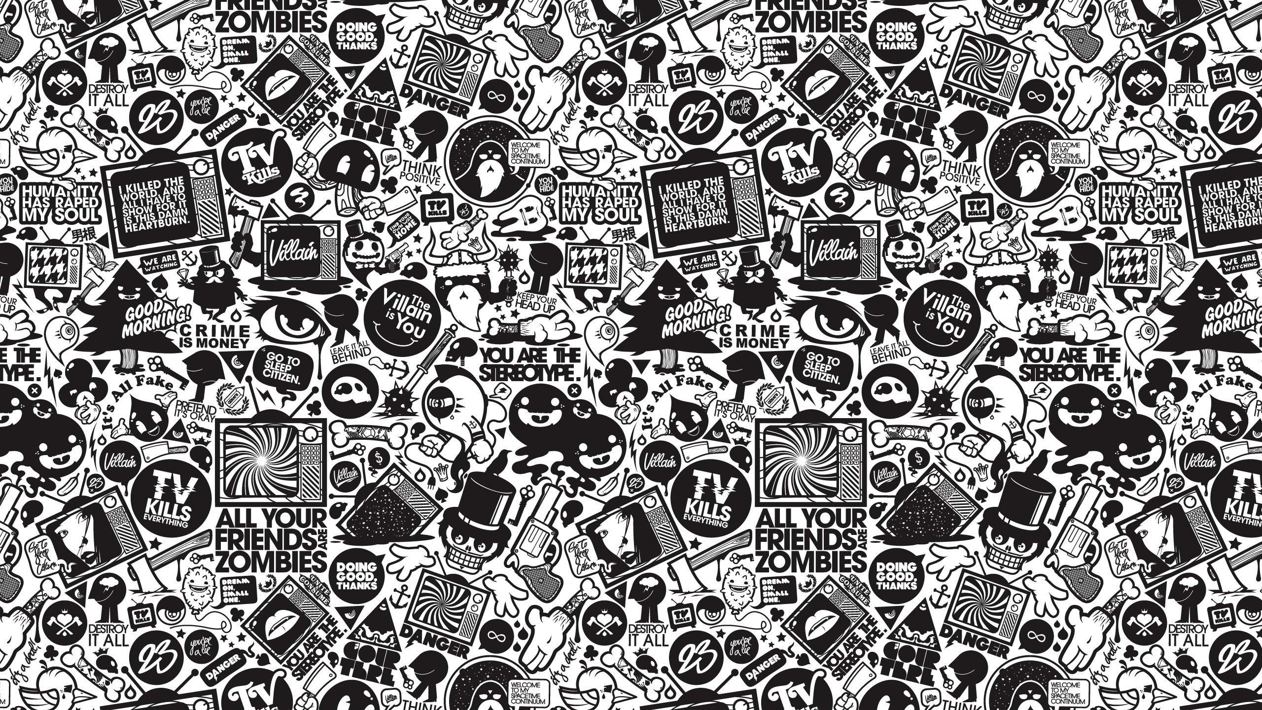 Music Related Wallpapers Group 86: Doodle Art Wallpapers (52+ Images