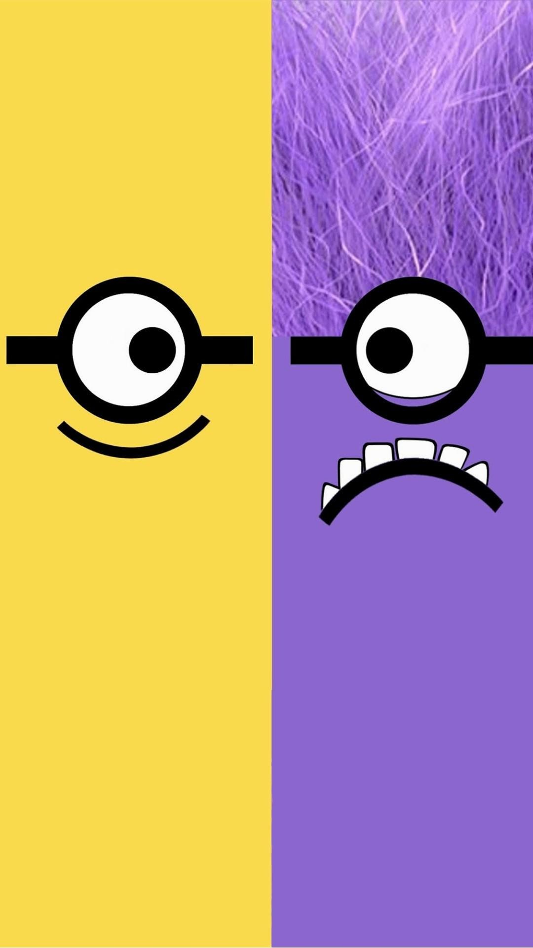 1080x1920 Despicable-Me-yellow-and-purple-minion-iphone-plus-