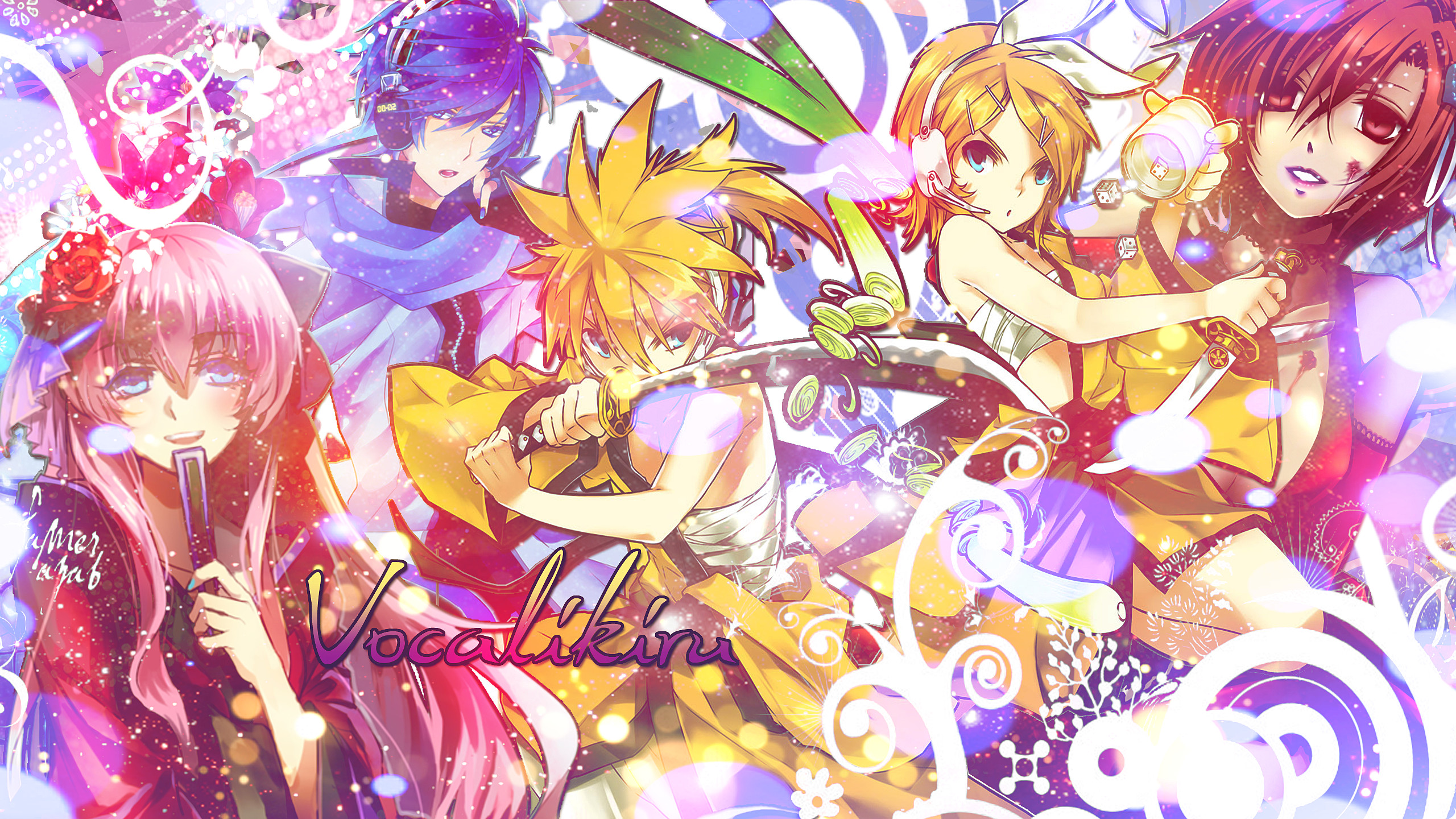 2560x1440 ... Vocaloid Wallpaper Another Version - Youtube by Bakalyss