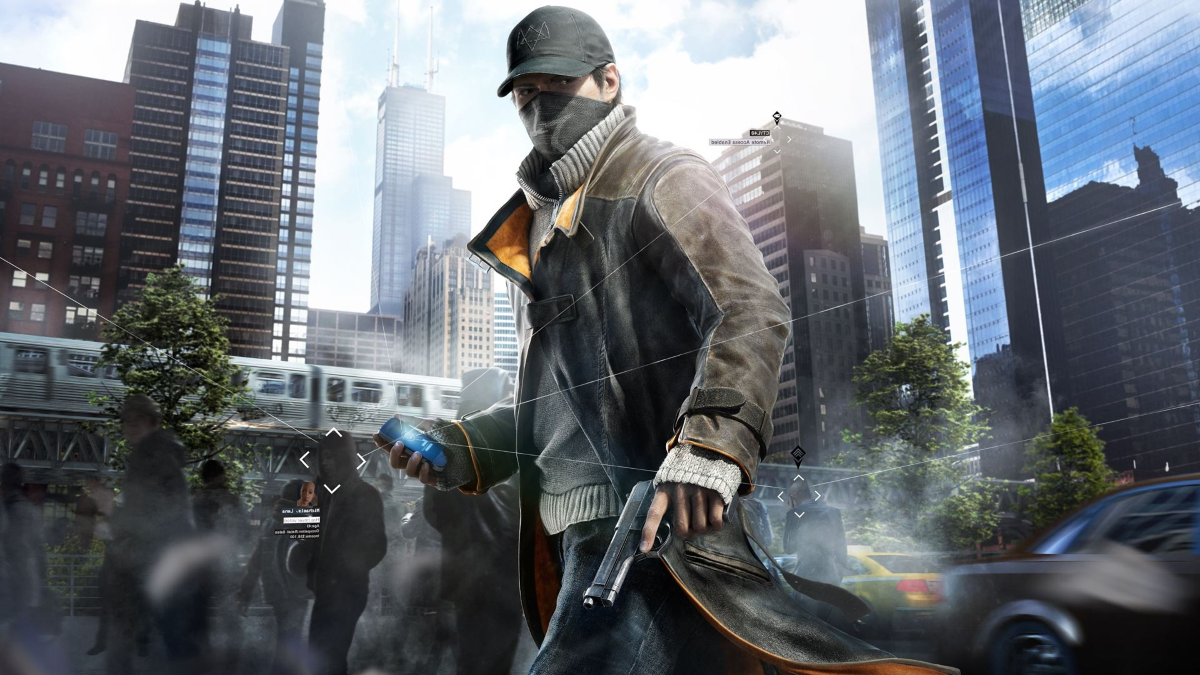 3840x2160 Watch Dogs Aiden Pearce