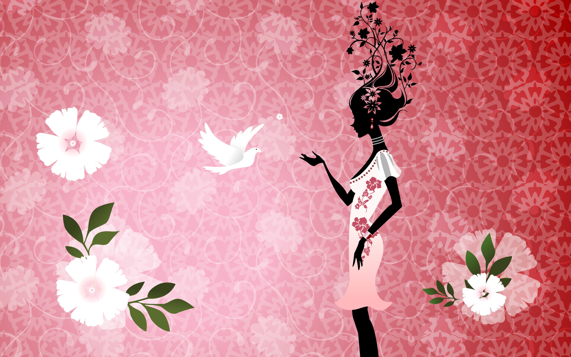 1920x1200 Girly Backgrounds for Desktop HD wallpaper background