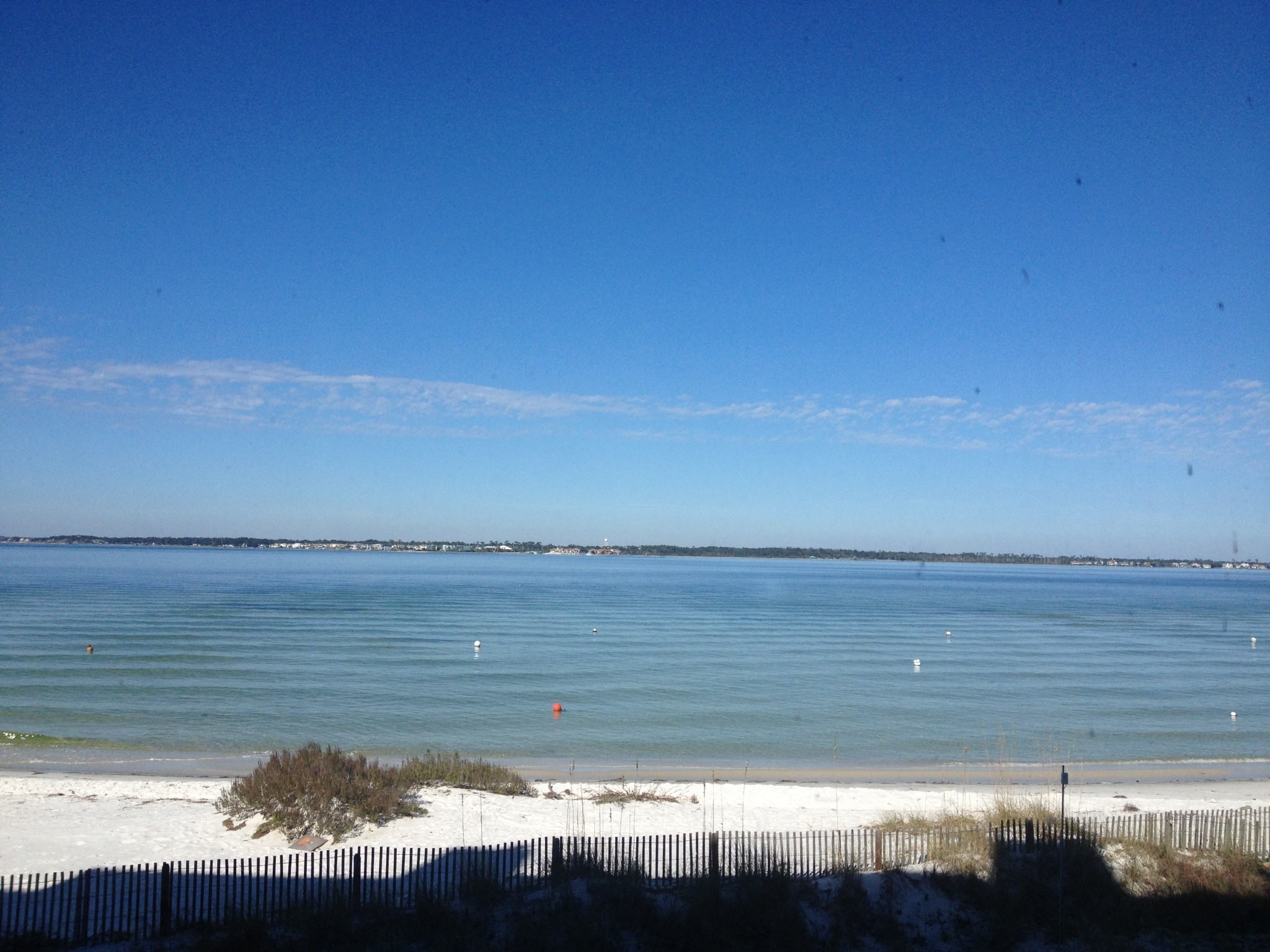2048x1536 So many shades of blue on a beautiful day on Pensacola Beach