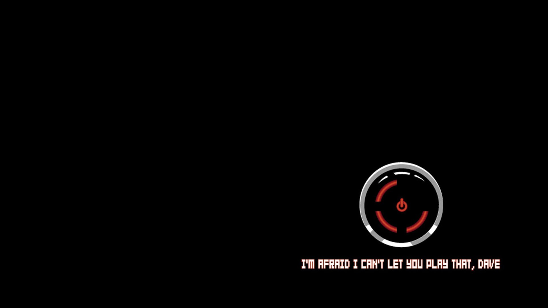 1920x1080 HAL 9000, Xbox, Xbox 360, Red Ring Of Death, Simple, Black, Black  Background, Humor, Video Games, 2001: A Space Odyssey, Robot Wallpapers HD  / Desktop and ...