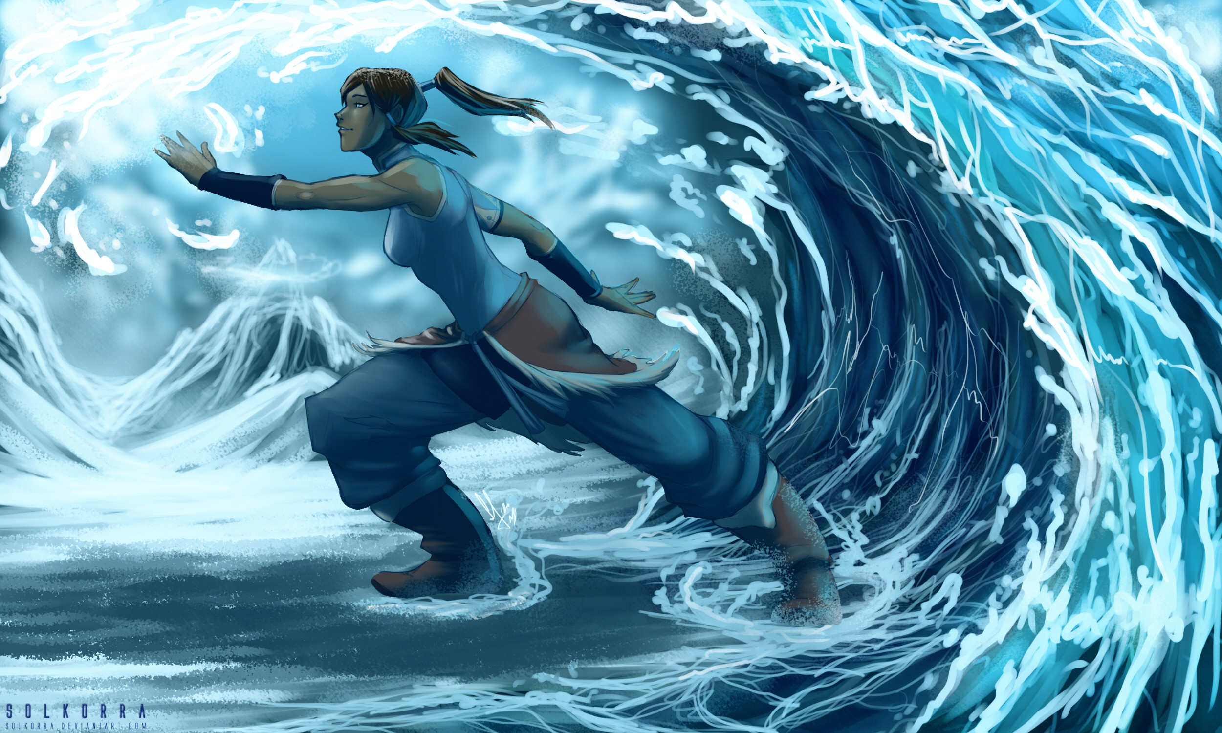 2500x1500 Anime - Avatar: The Legend Of Korra Wallpaper