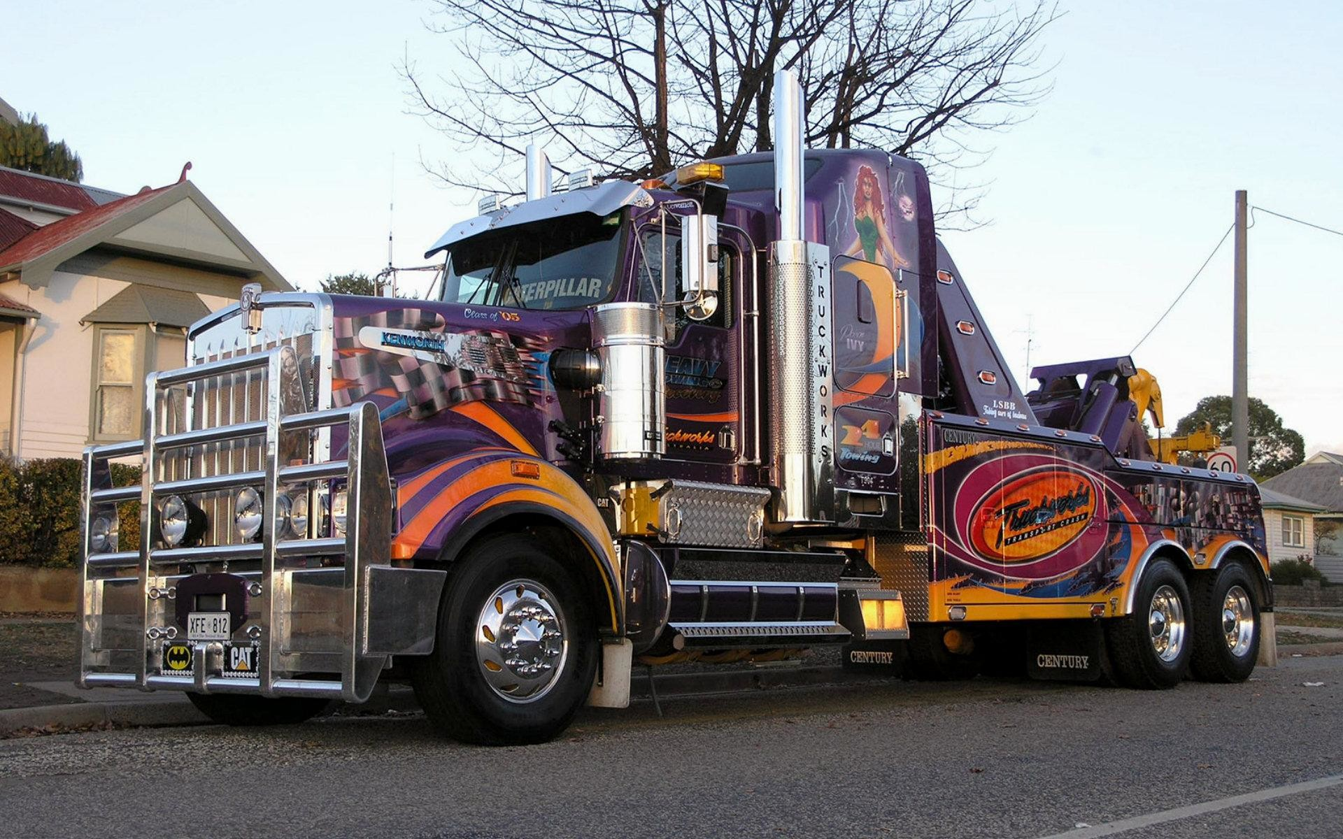1920x1200 wallpaper.wiki-Colorful-Semi-Truck-Wallpaper-PIC-WPE001177