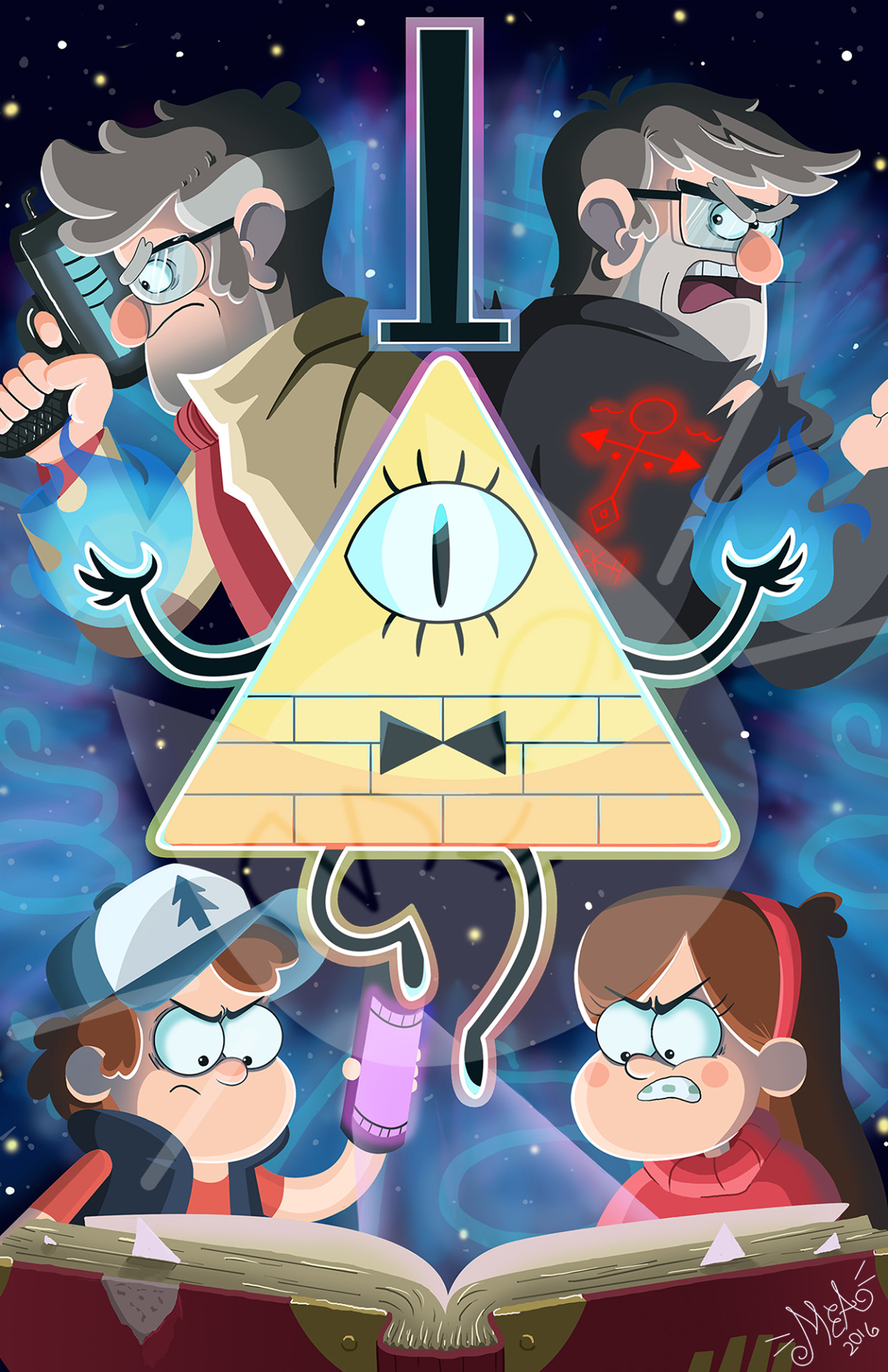 1242x1920 Gravity Falls for life