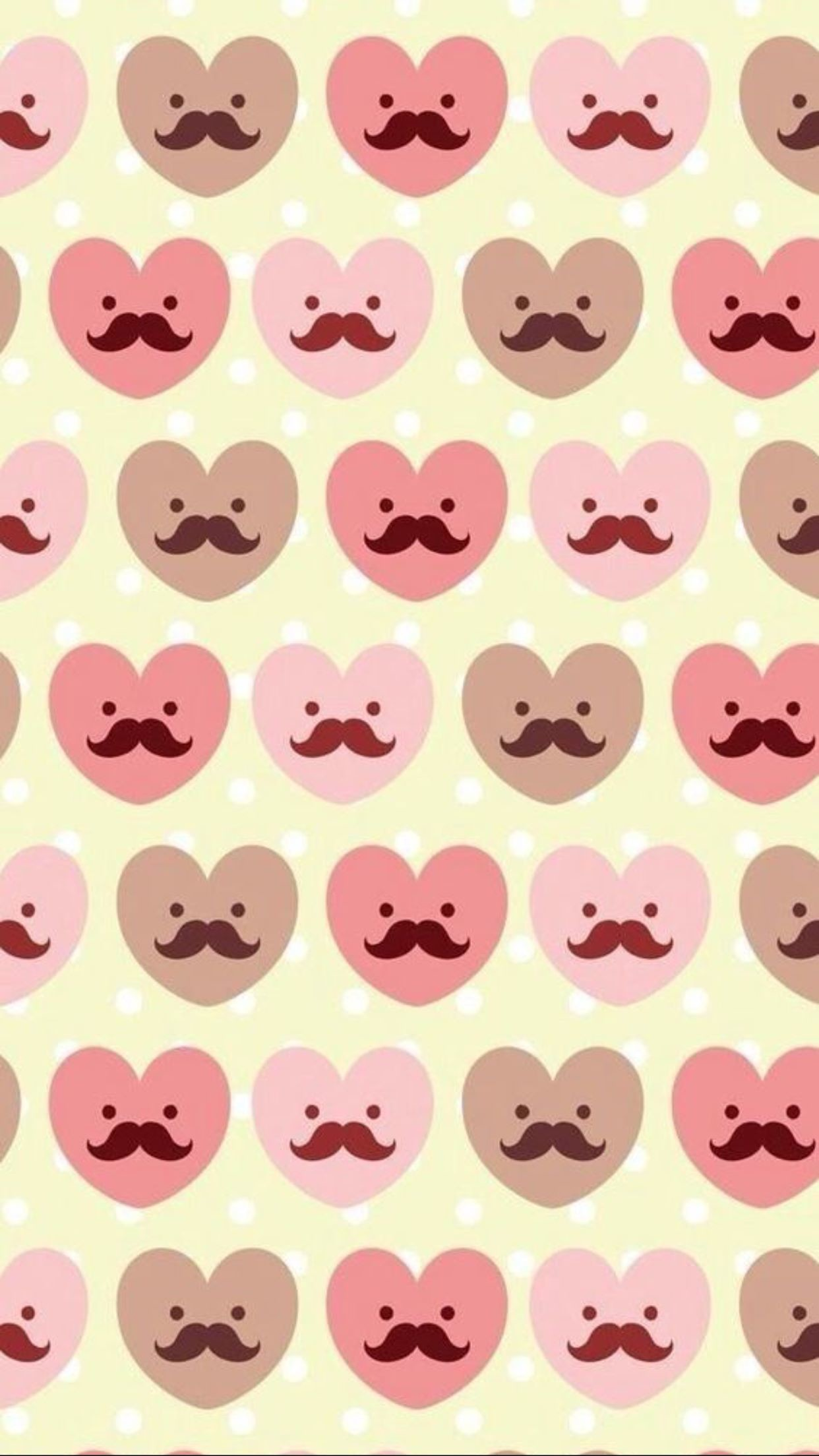 1242x2208 Mustache Wallpapers For Iphone 6 Plus