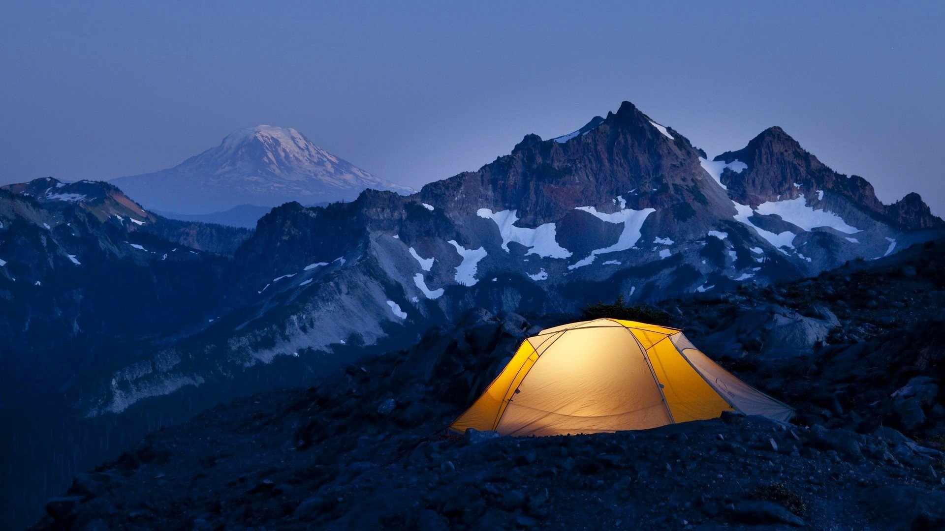 1920x1080 Photography Camping mountain night sport light snow wallpapers.