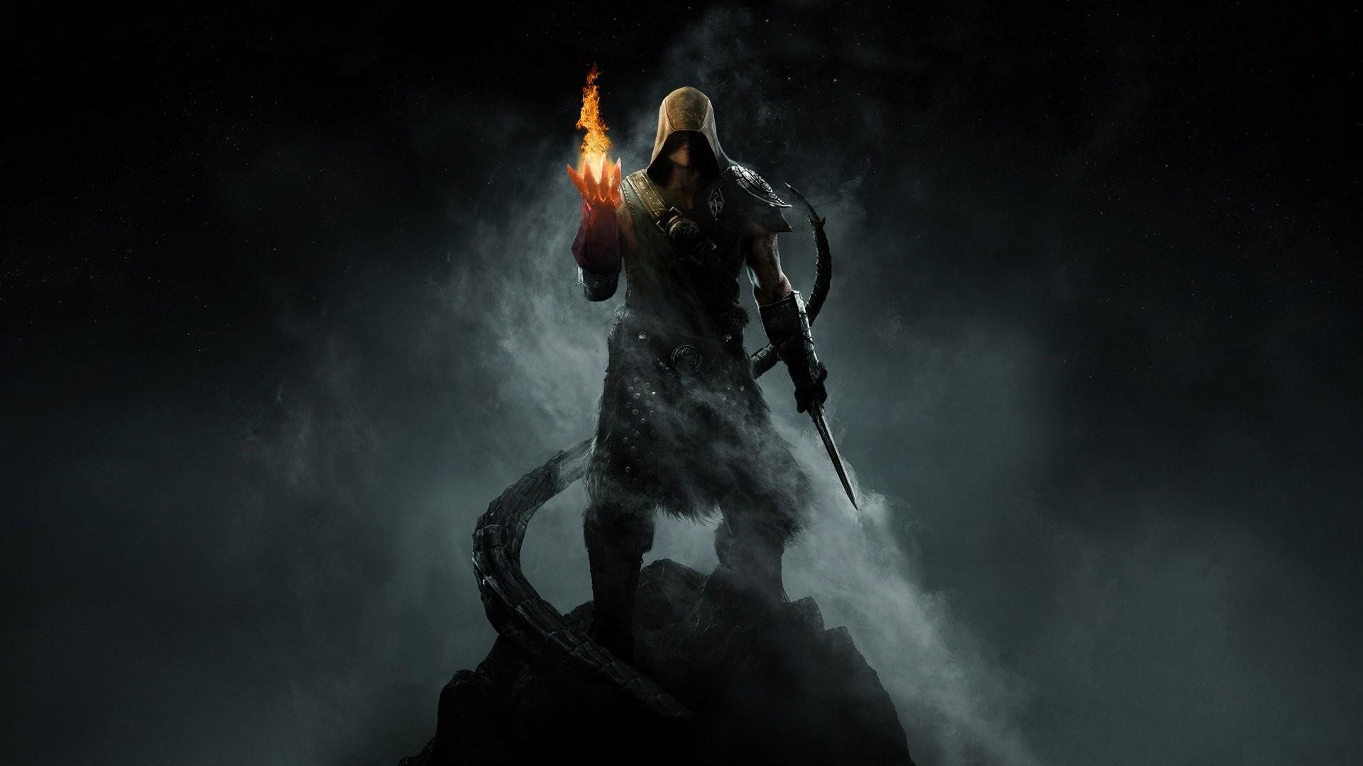 1920x1080 Video Game - The Elder Scrolls V: Skyrim Skyrim Mage Wallpaper