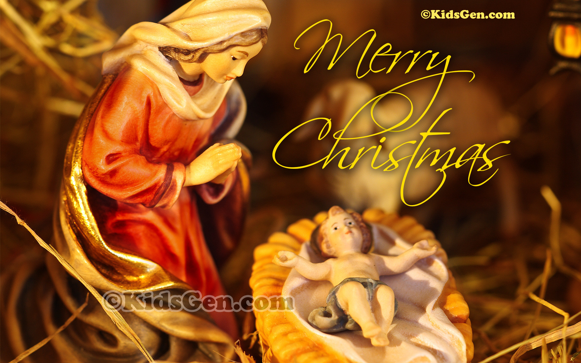 1920x1200 We celebrate Christmas remembering the birth of Jesus