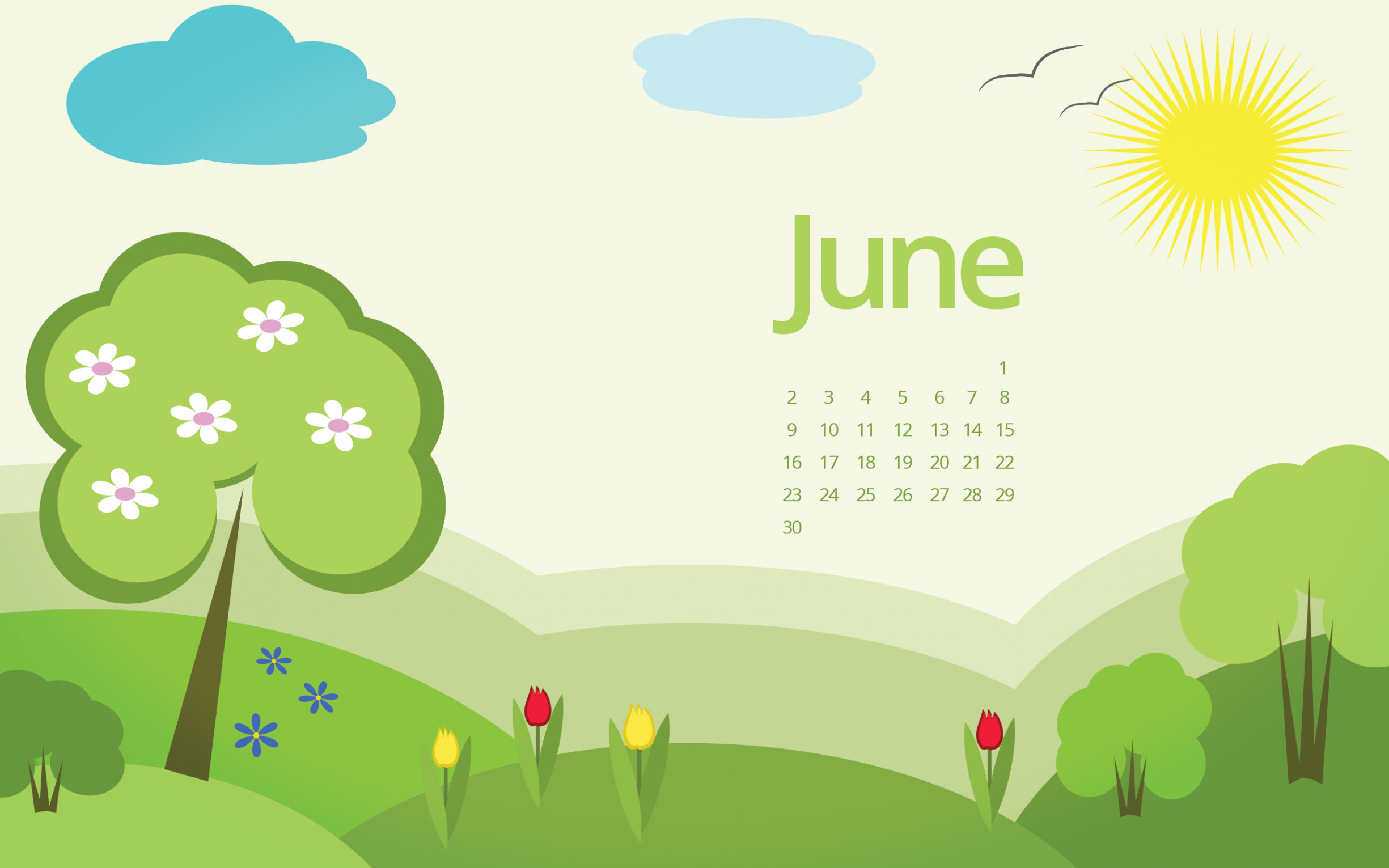2450x1531 june 2017 desktop wallpaper · june 2017 calendar wallpaper