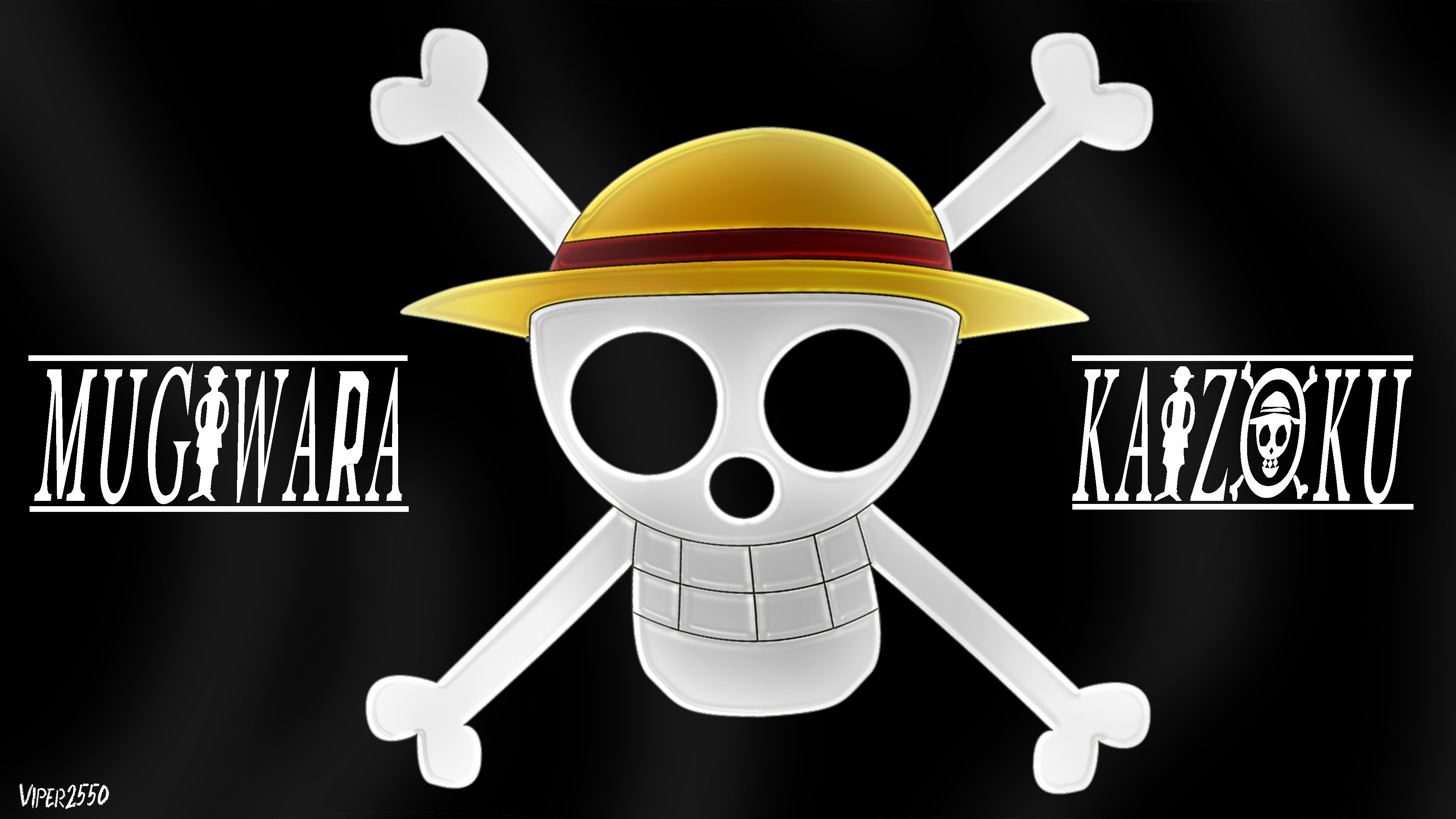 3840x2160 Anime - One Piece Pirate Flag Wallpaper
