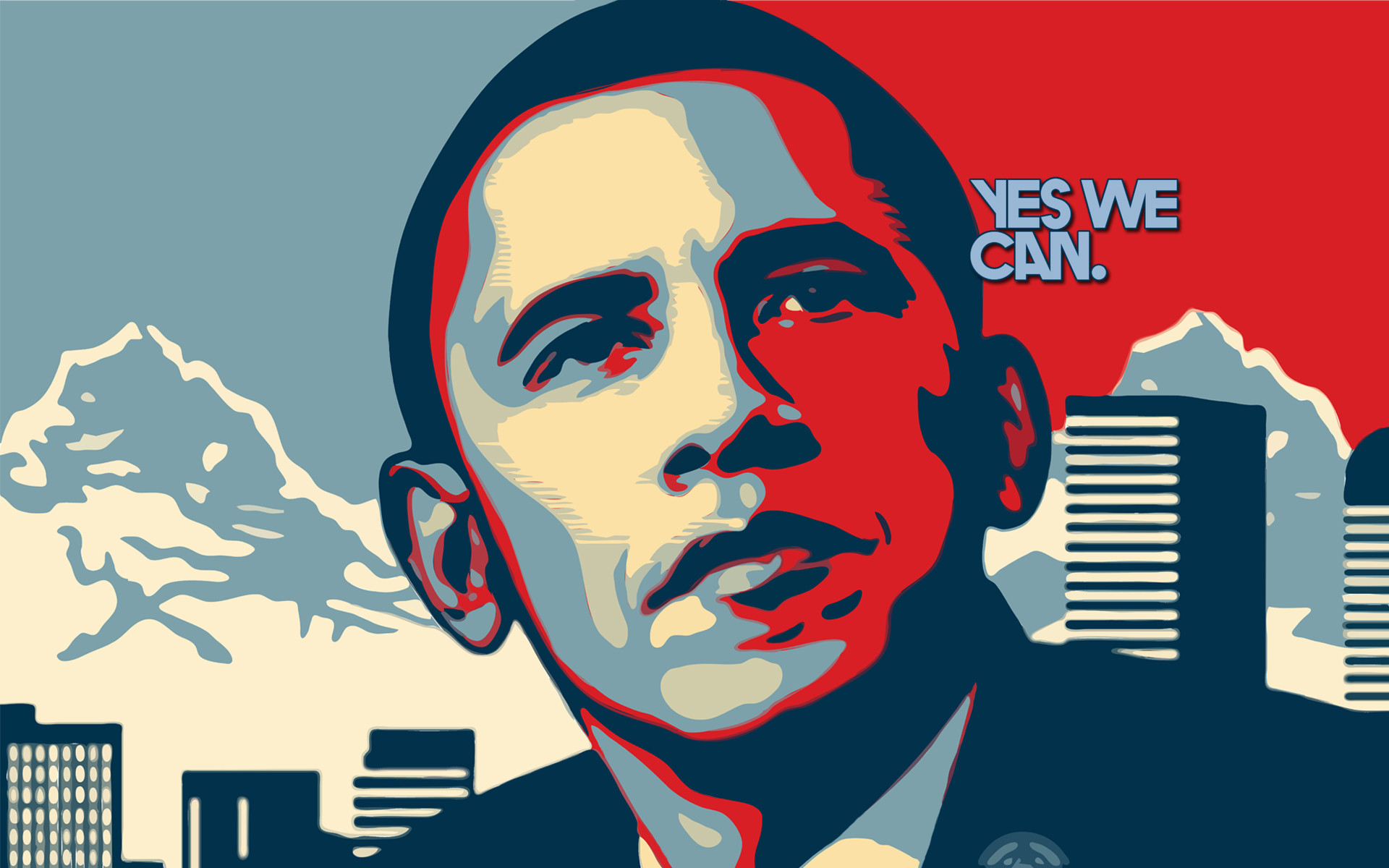 1920x1200 Pics Photos Barack Obama Hope Wallpaper