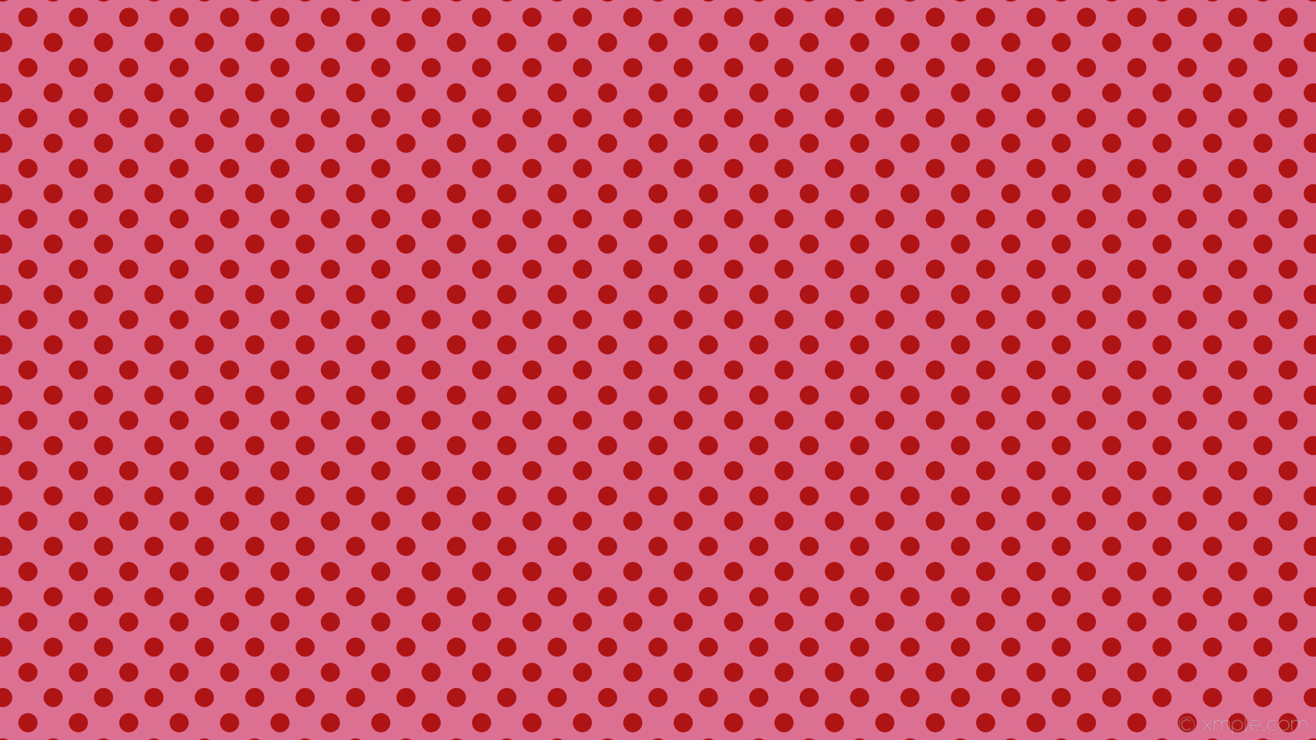1920x1080 wallpaper polka red spots pink dots pale violet red #db7093 #af1414 225°  28px