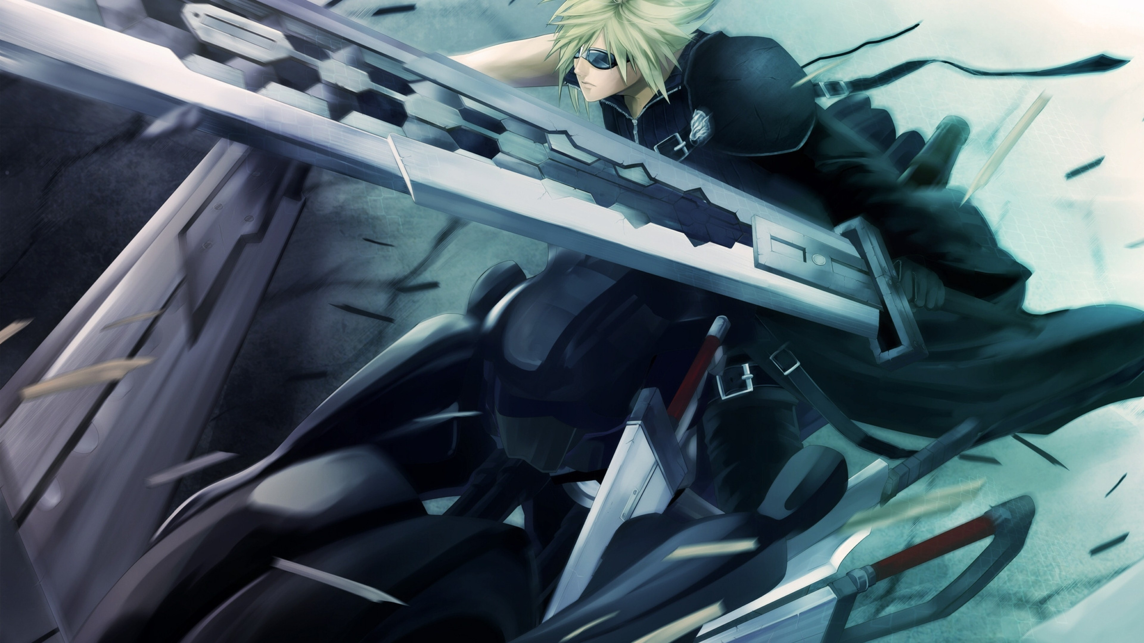 3840x2160 Sephiroth Final Fantasy VII Advent Children Mobile Wallpaper