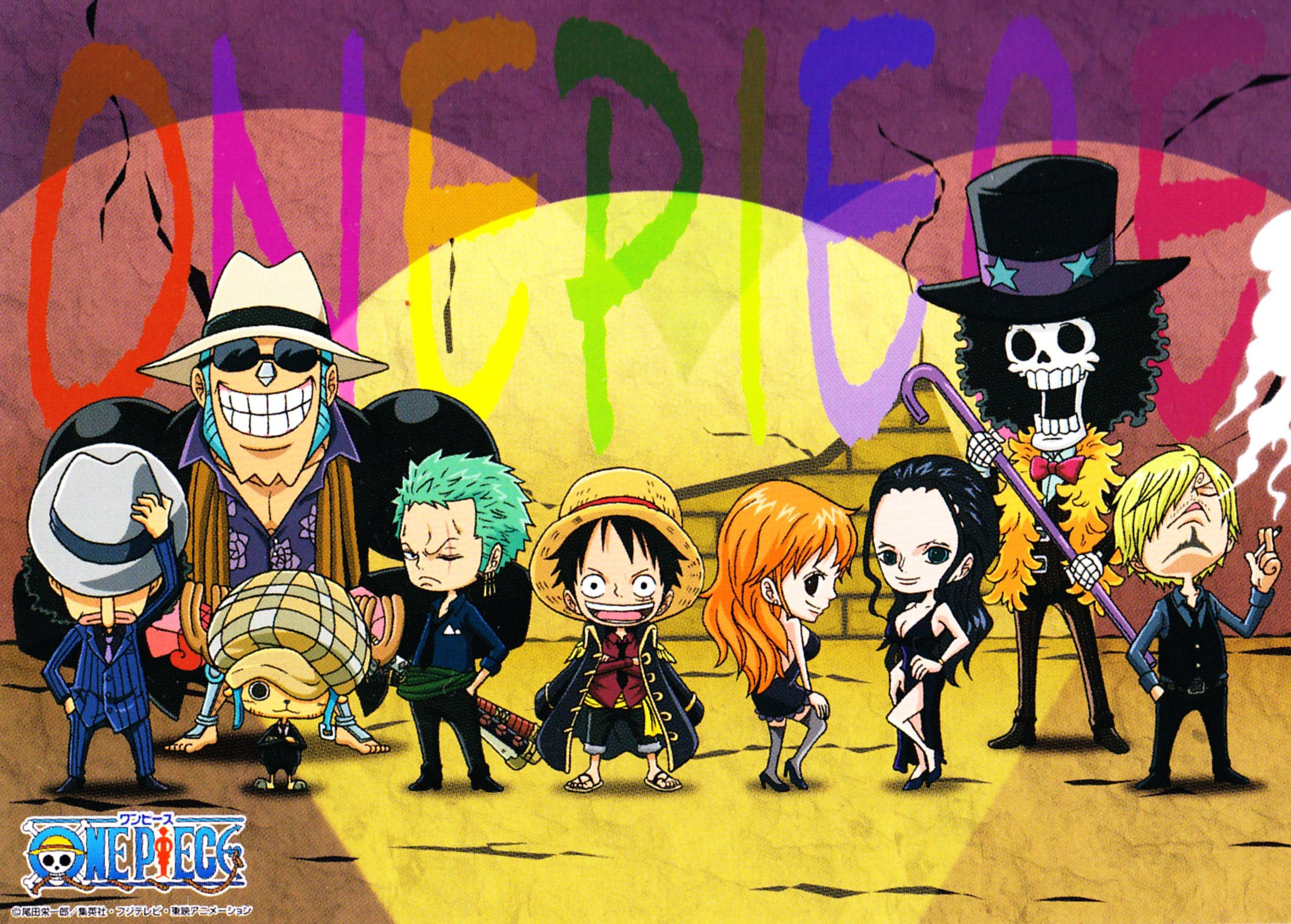 2477x1773 Download One Piece: One Piece Puzzle Gum NW4 () - Minitokyo