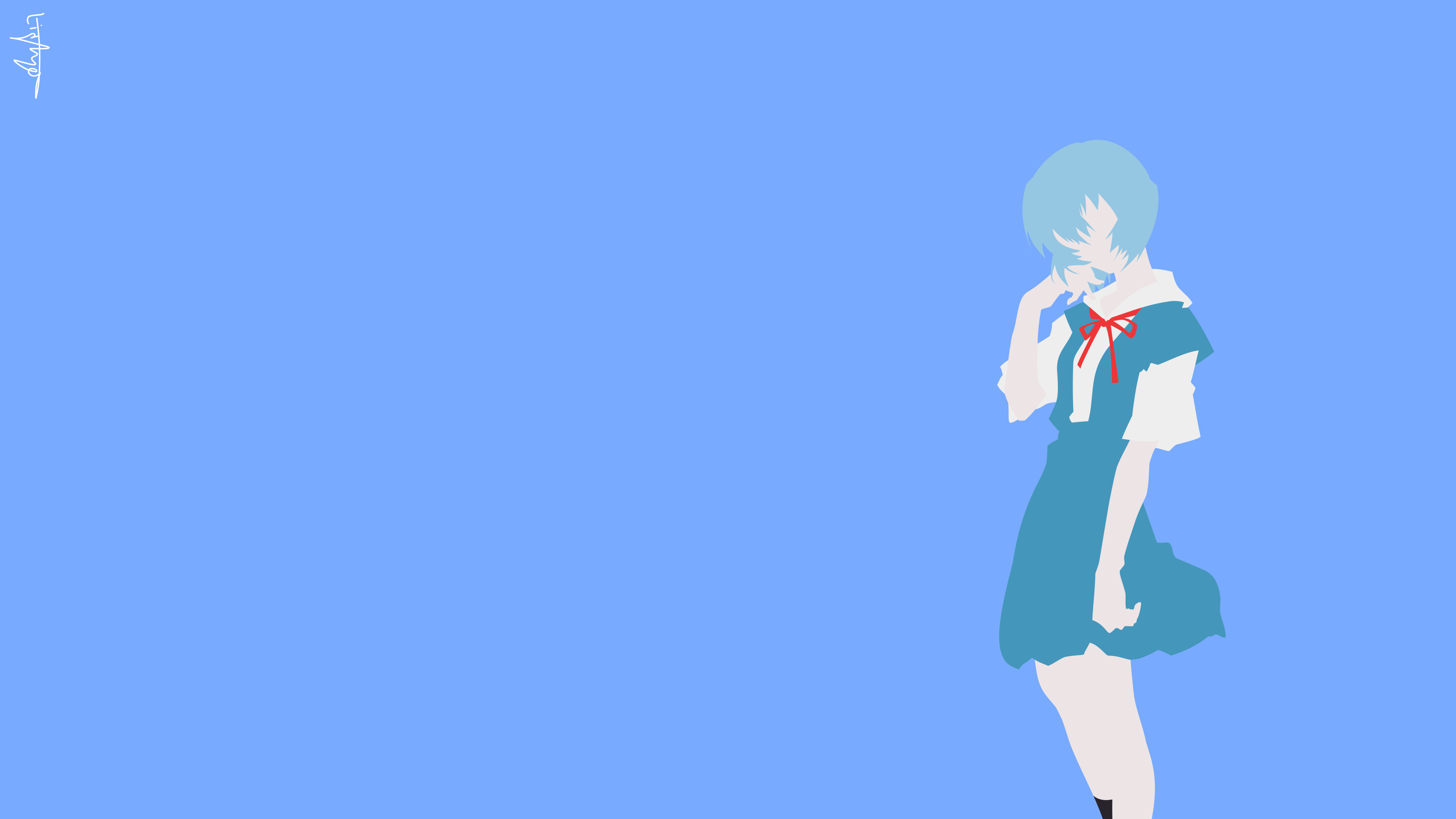 3840x2160 Rei Ayanami · HD Wallpaper | Background ID:829559