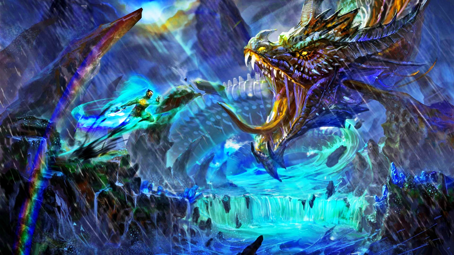 Fantasy Dragon Wallpaper  72  Images