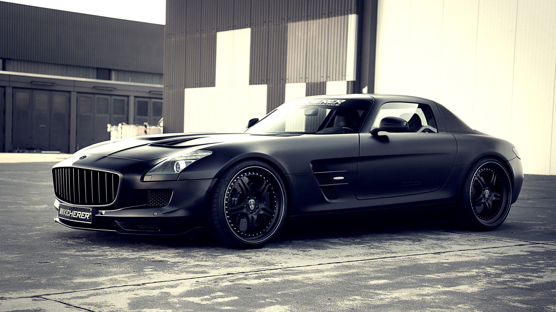 1920x1080 Mercedes Benz SLS 63 AMG Supersport GT