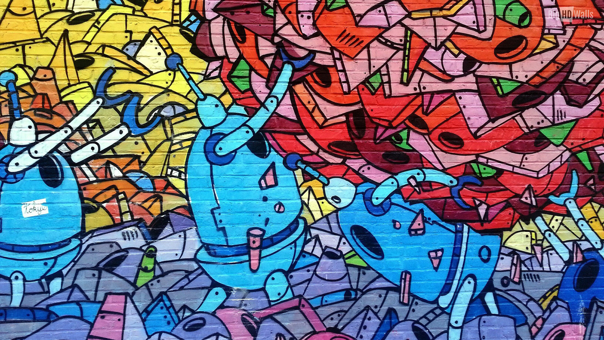 Hd Graffiti Desktop Wallpapers 71 Images