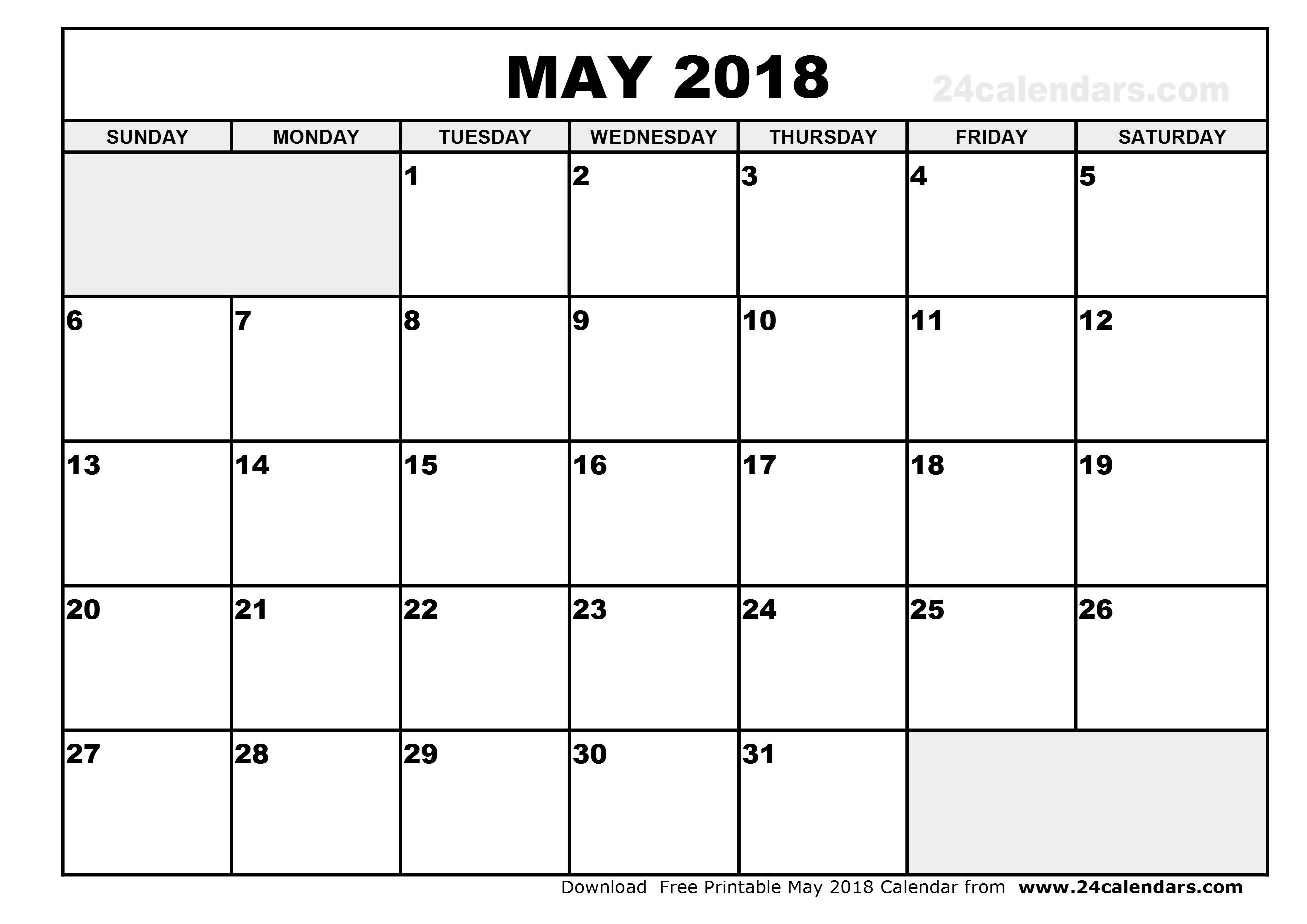 may 2018 calendar download