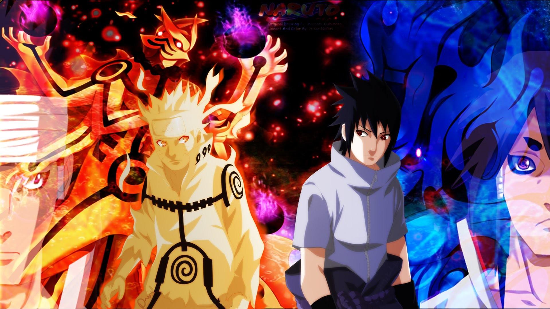 Naruto Vs Sasuke Wallpaper (57+ Images
