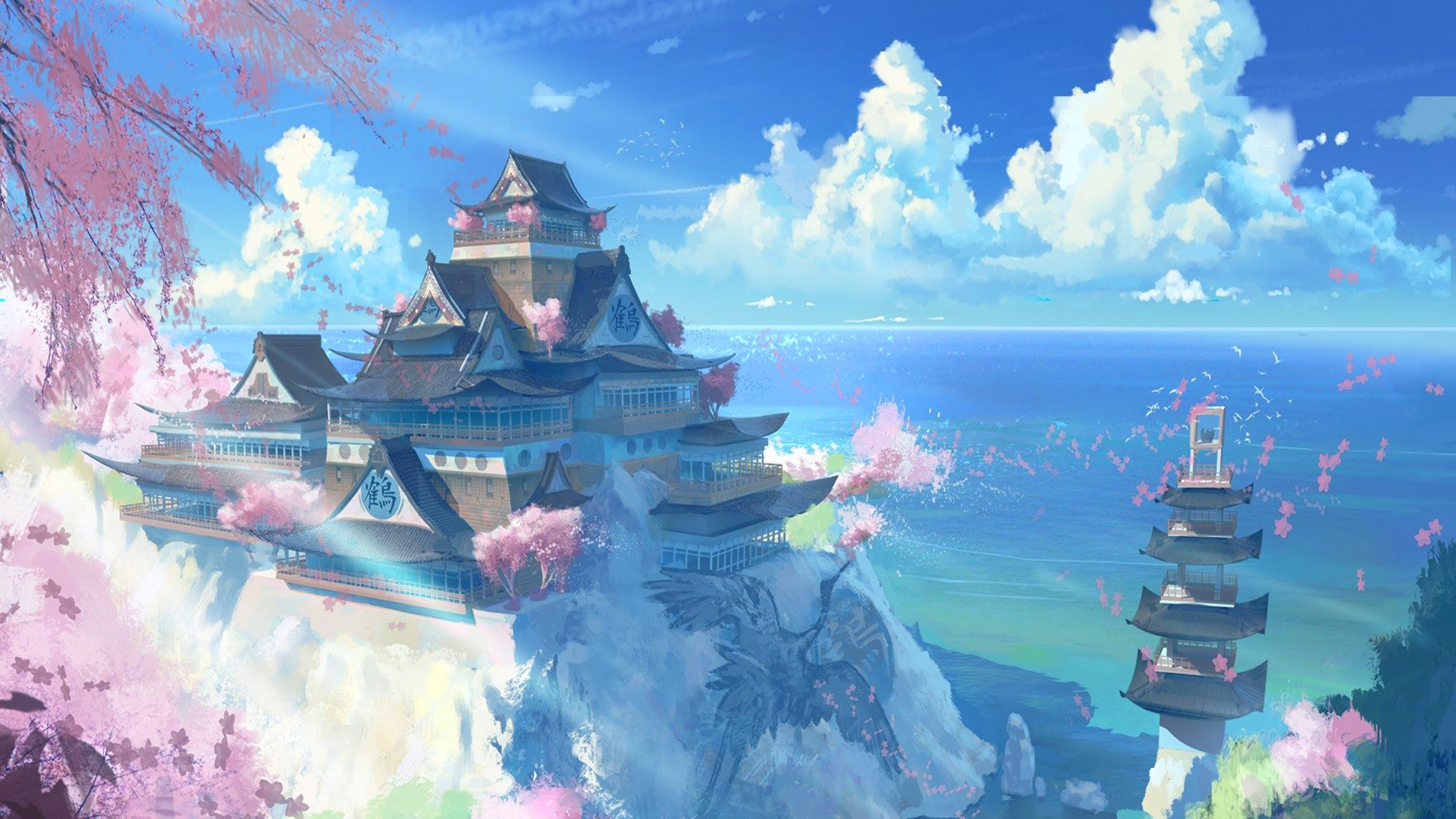 anime nature wallpaper 77 images