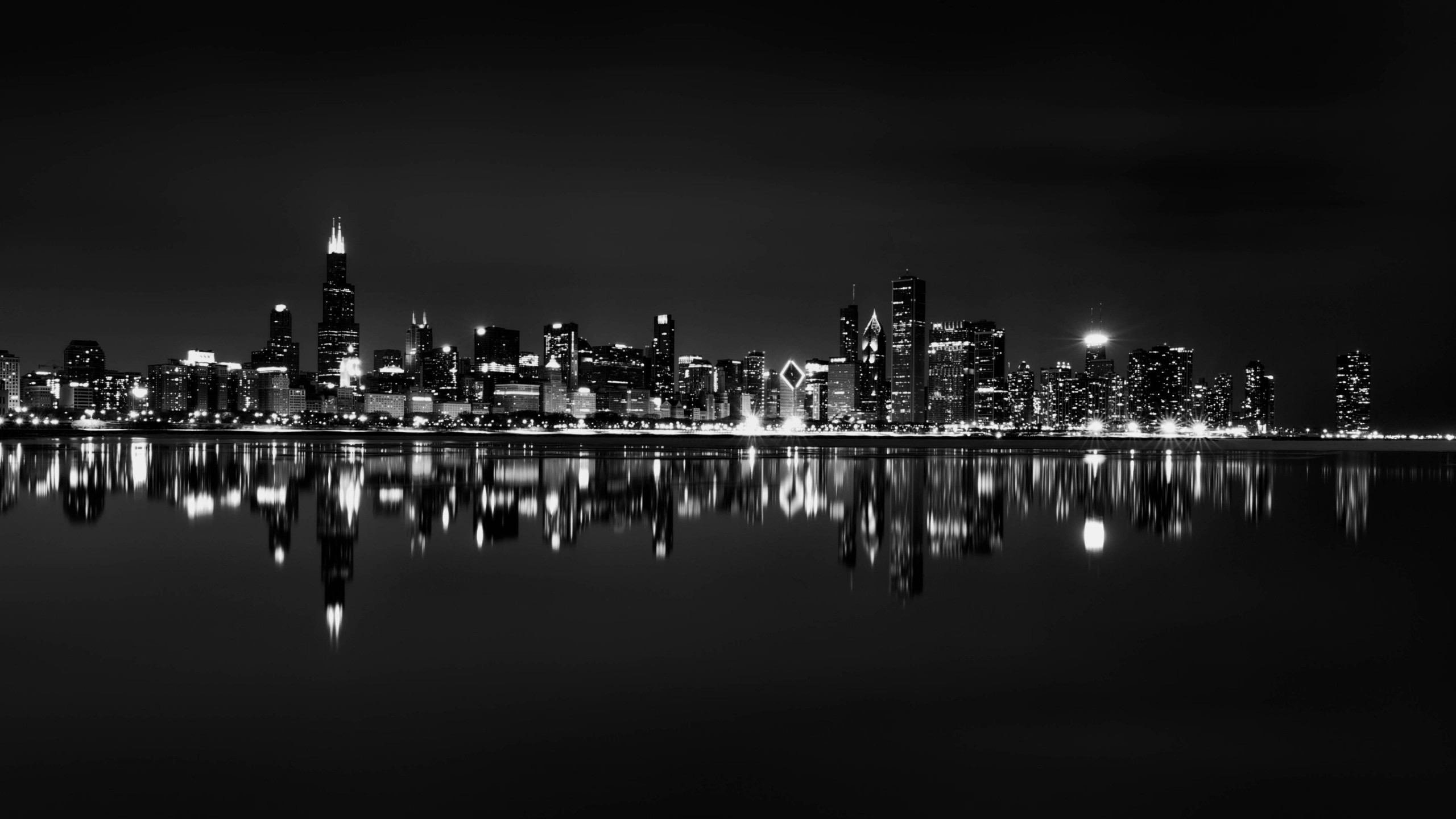 2560x1440 Chicago Skyline Backgrounds