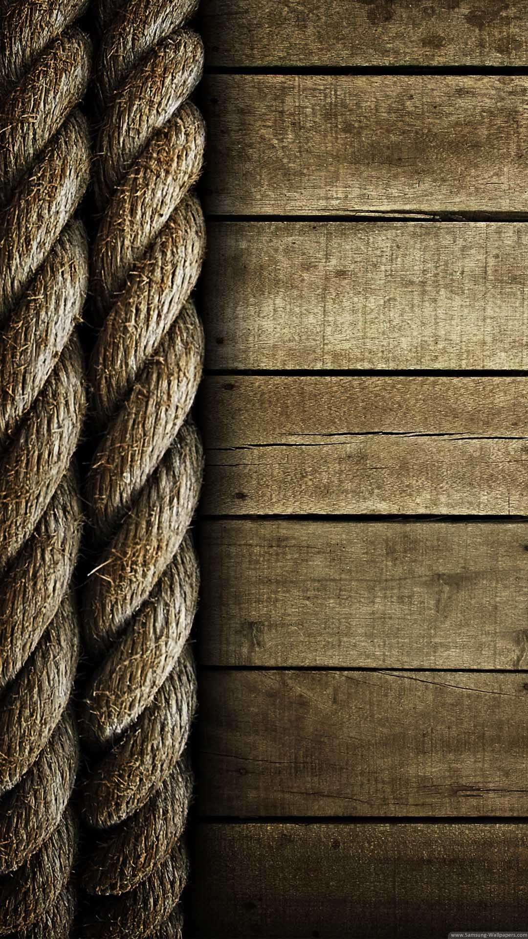 1080x1920 Rope And Wood Lockscreen Clean iPhone 6 Plus HD Wallpaper ...