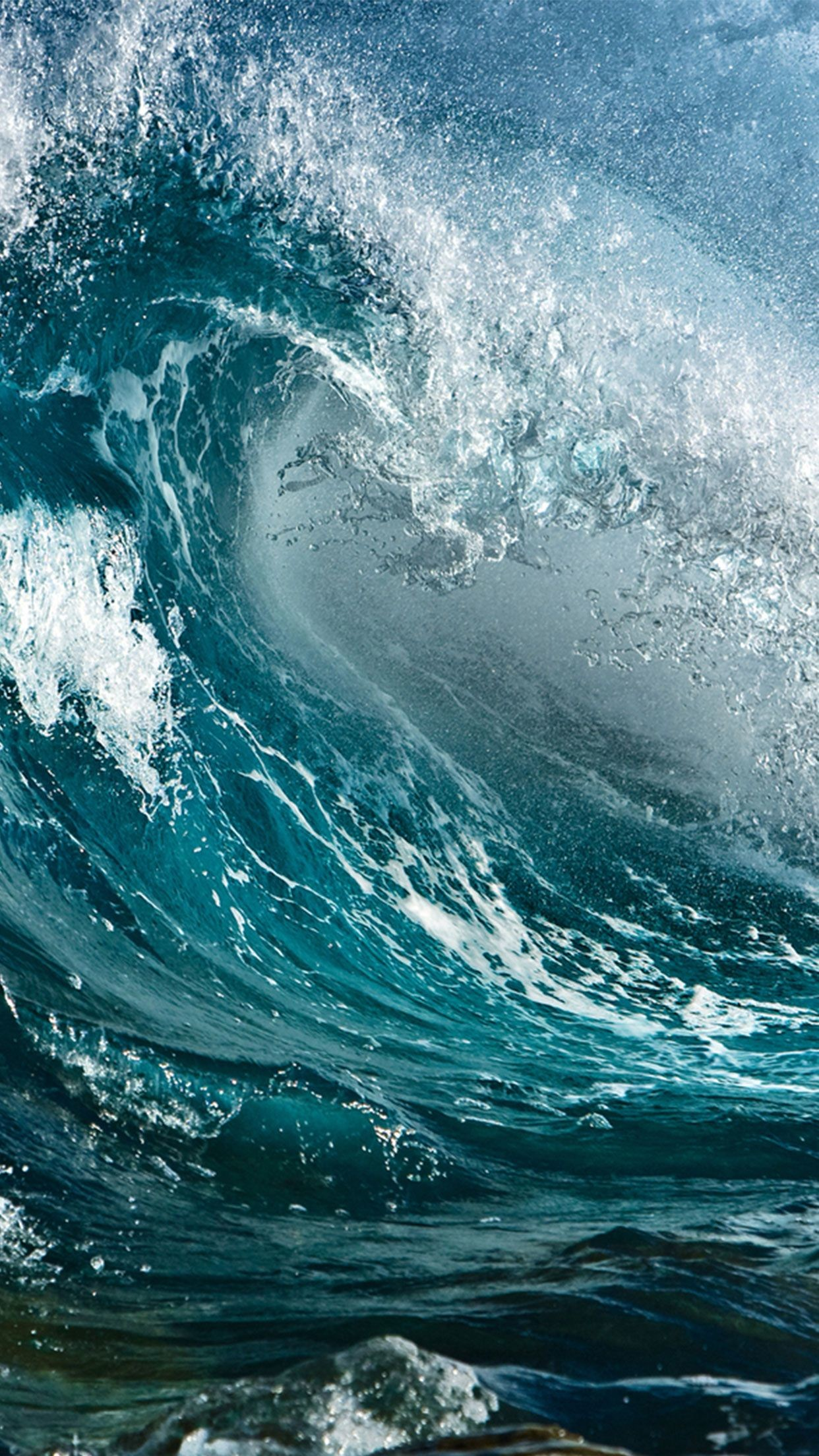 Ocean Wave Iphone Wallpaper 79 Images