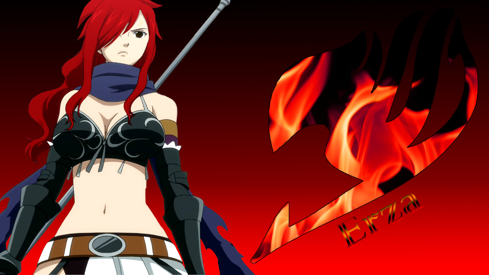 1920x1080 Backgrounds Erza Scarlet HD Download.