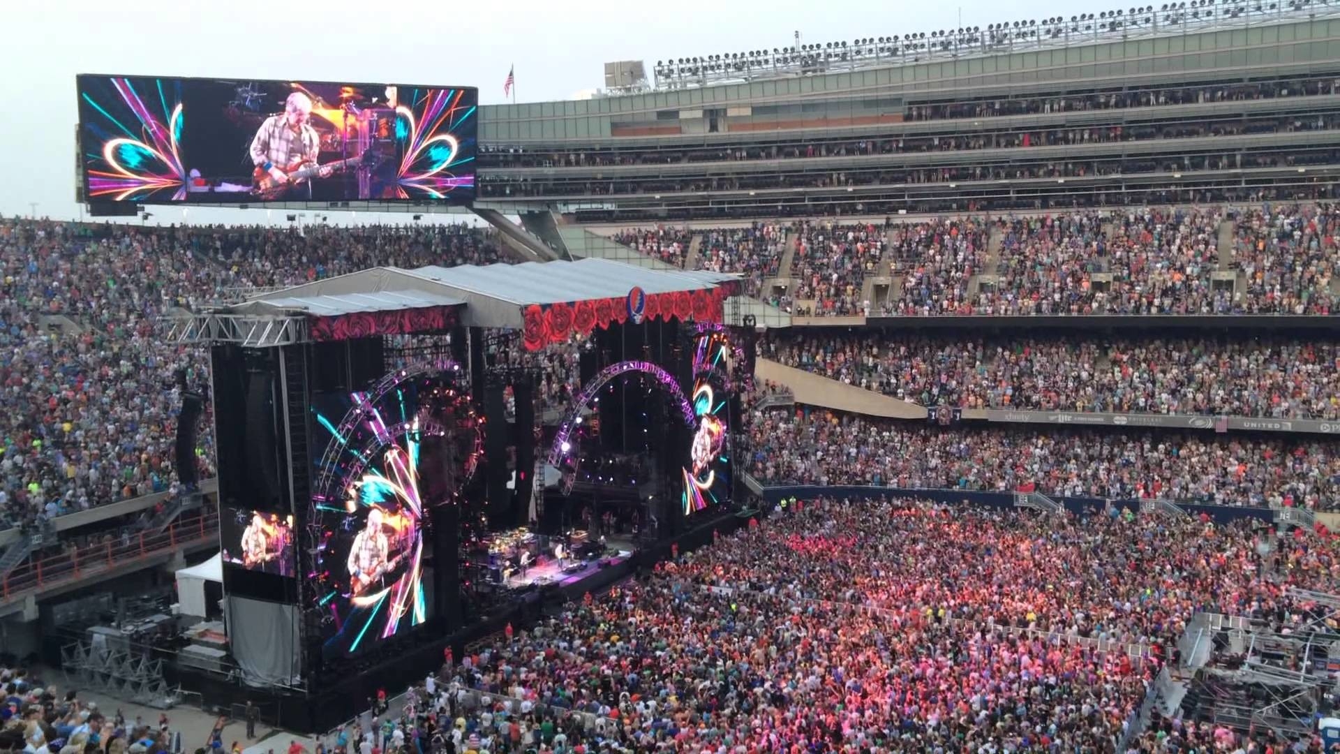 1920x1080 Grateful Dead Fare Thee Well 7/4/2015 Tennesse Jed (Short)