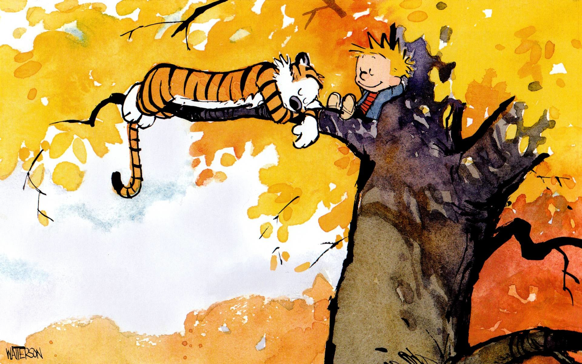 1920x1200 Calvin and Hobbes Wallpaper Dump