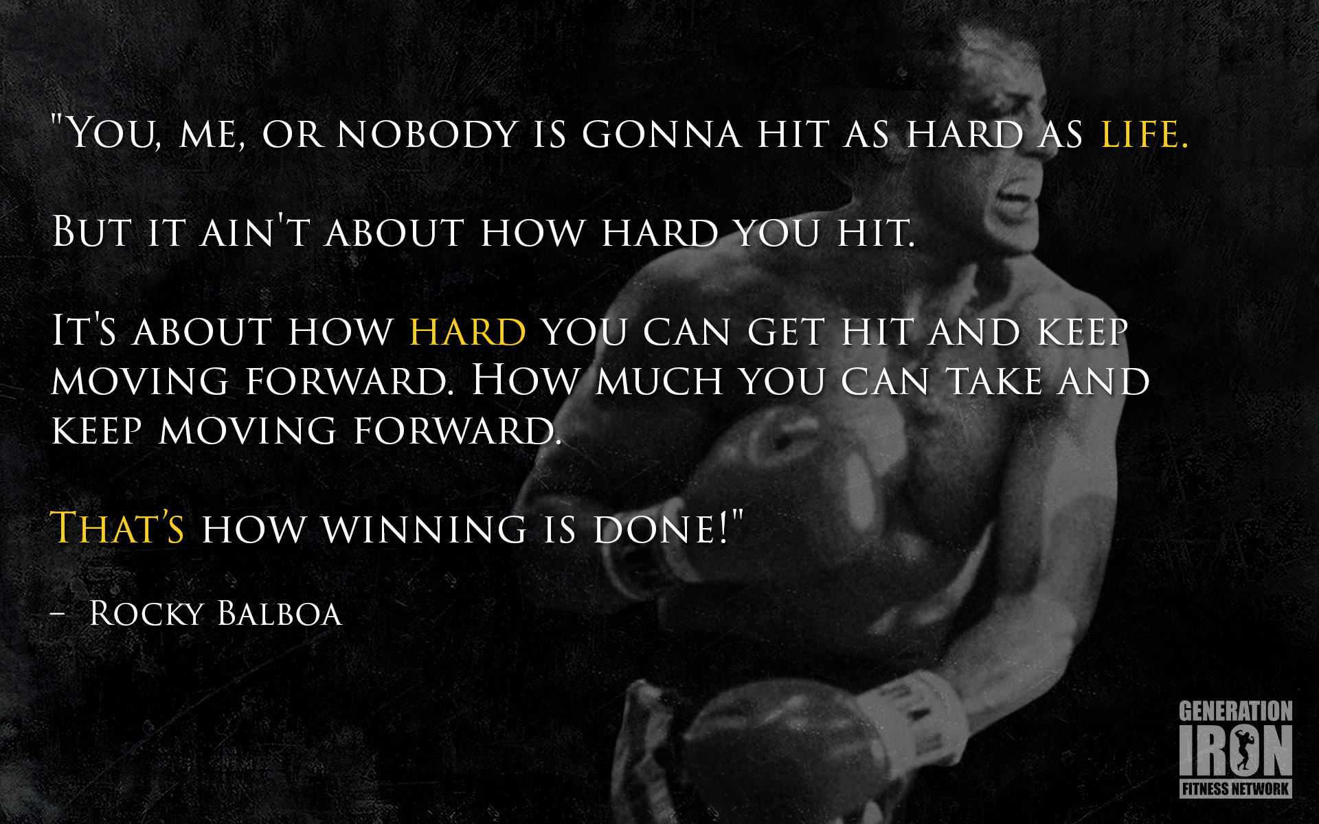 Rocky balboa wallpaper 65 images - Rocky wallpaper with quotes ...