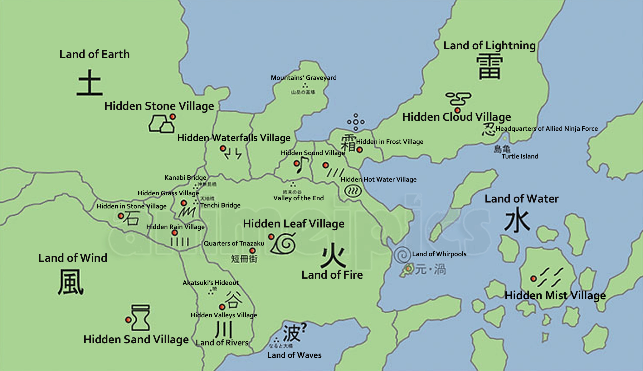 Hidden leaf village wallpaper 56 images 2061x1189 naruto world map lands and hidden villages download 1920x1080 gumiabroncs Choice Image
