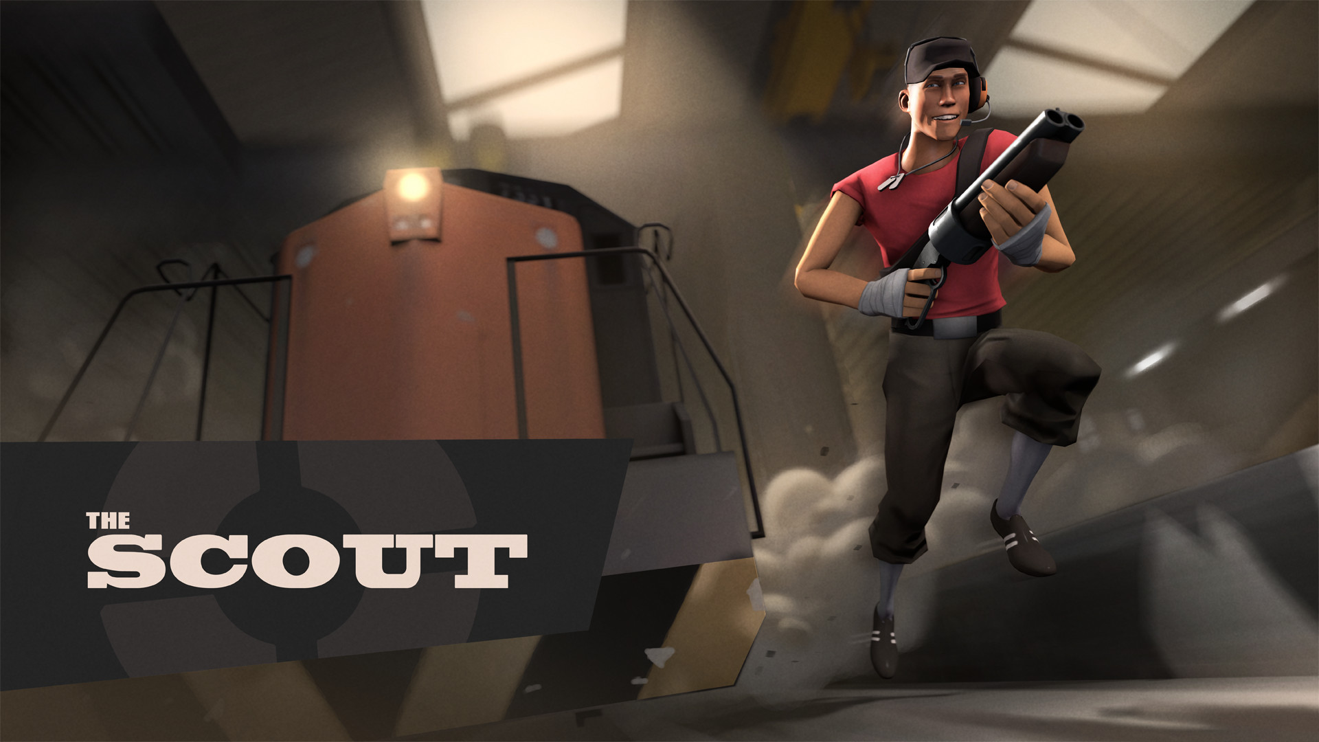 1920x1080 Tf2 Scout Wallpaper