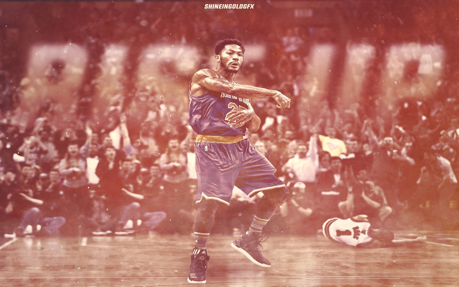 1920x1200  Derrick Rose Rise Up 2016  Wallpaper
