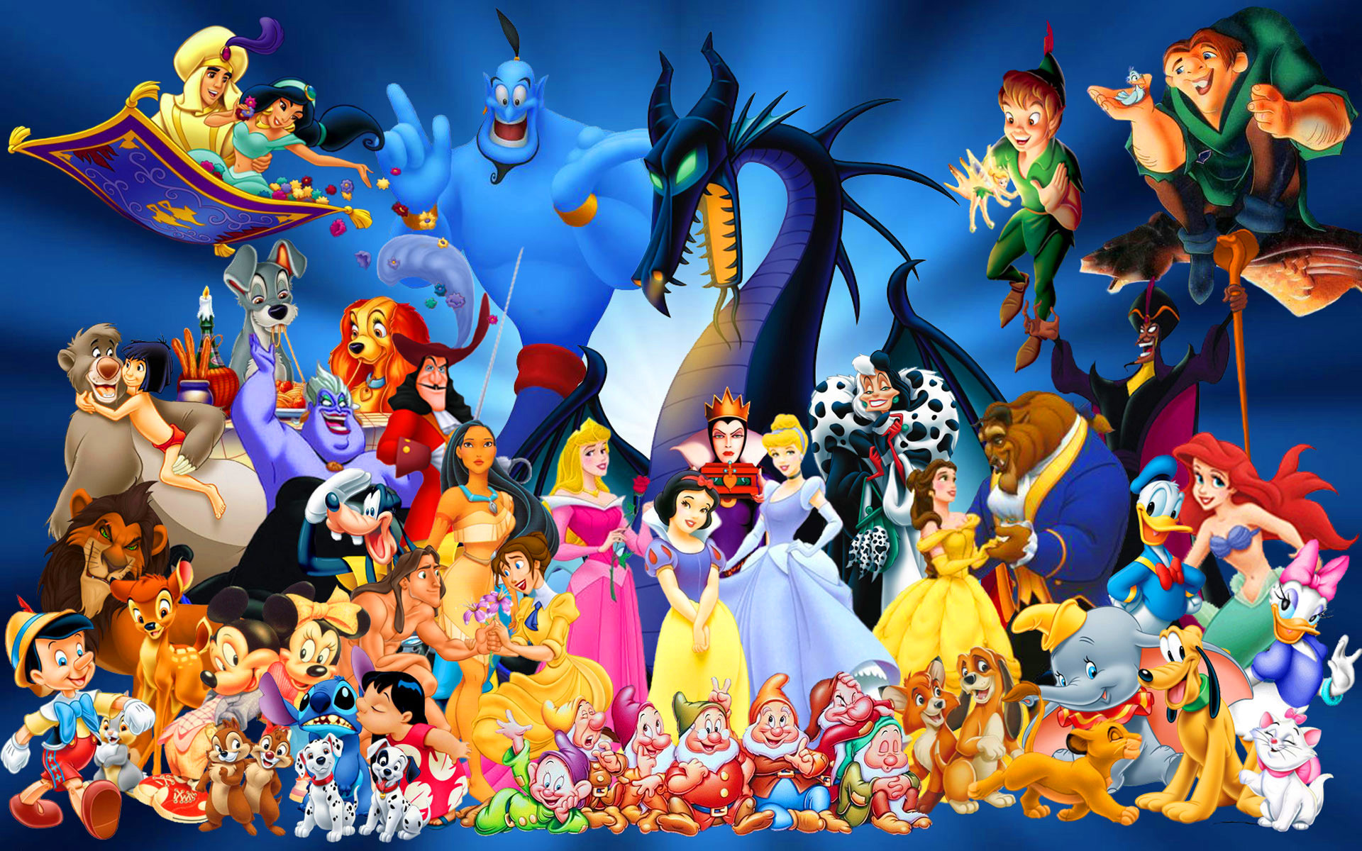 1920x1200 Free Disney Cartoon Characters, computer desktop wallpapers, pictures .