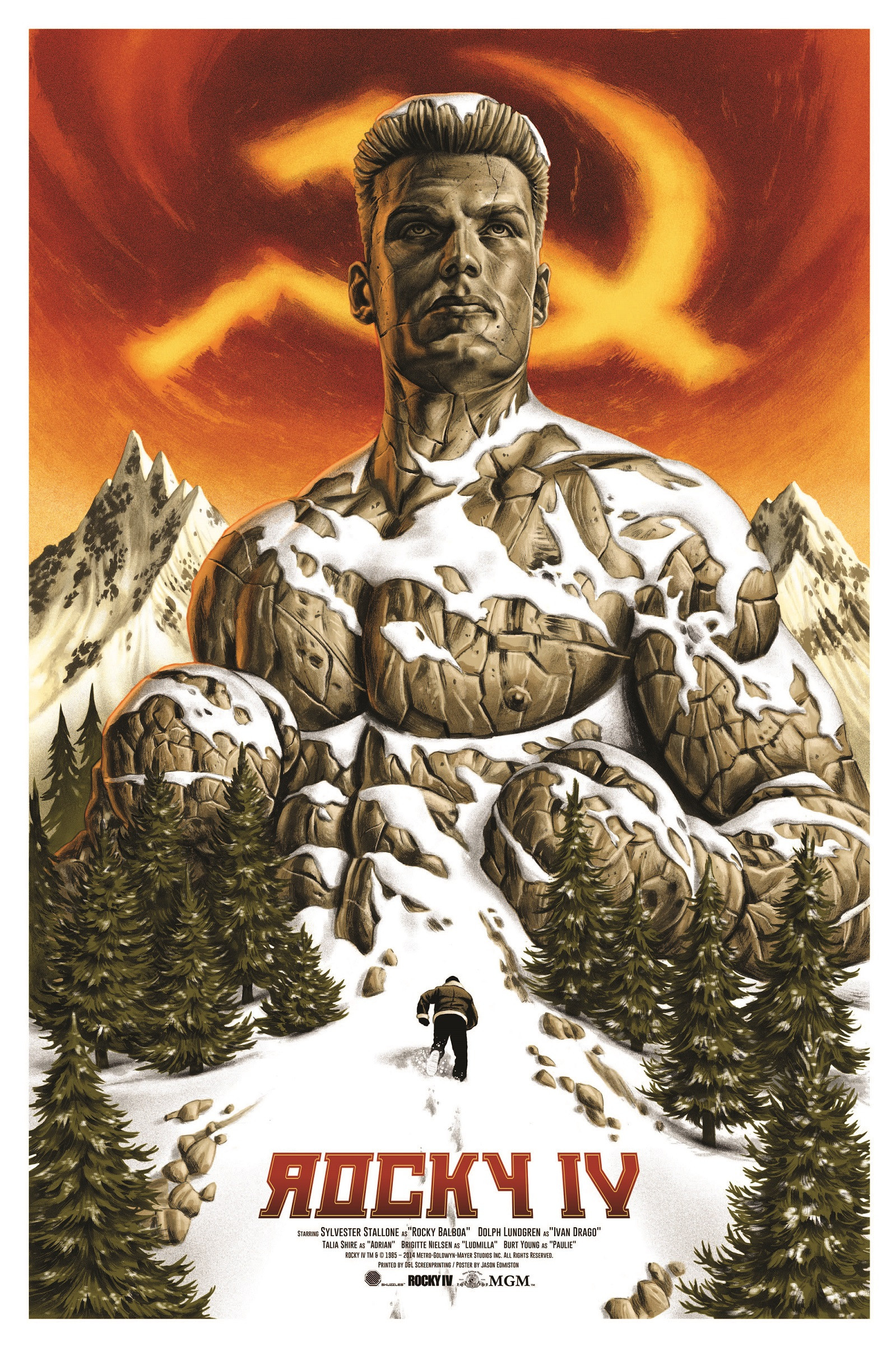 1599x2400 ROCKY IV I think I liked this movie as a kid but I remember thinking even