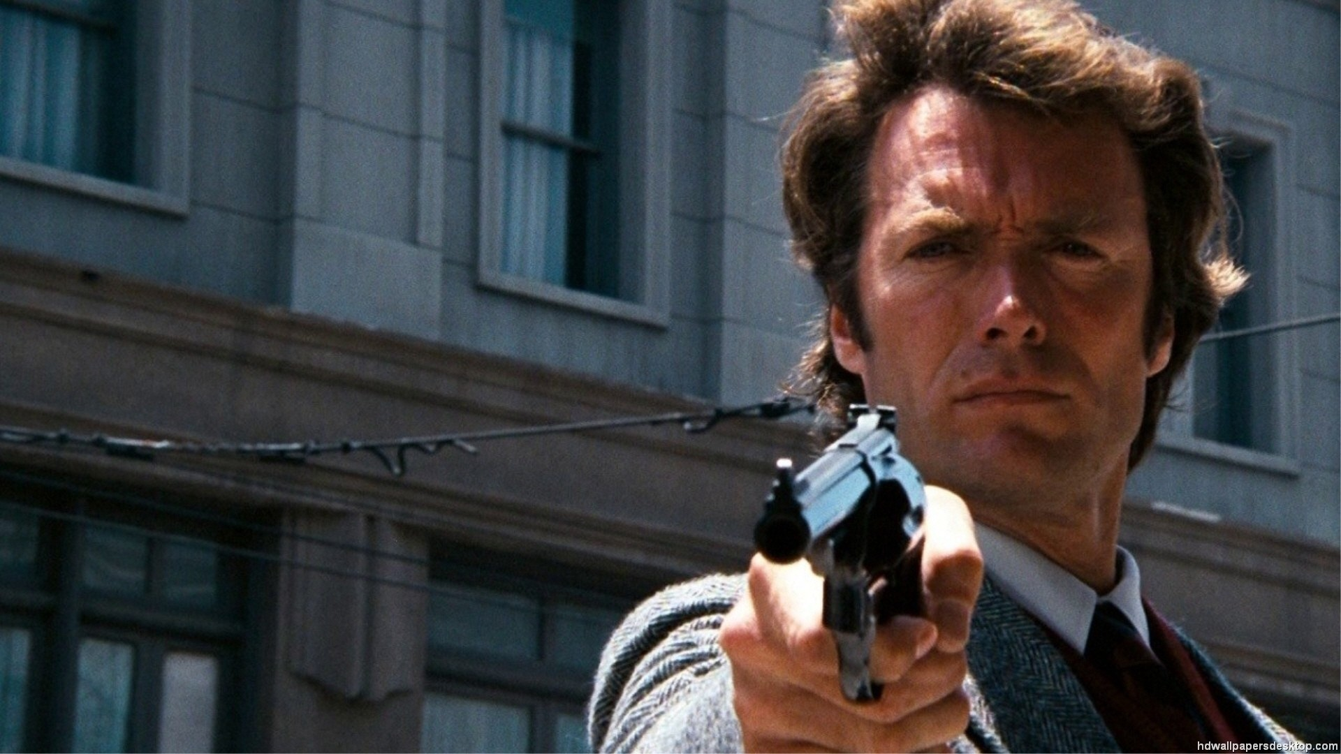 1920x1080 Dirty Harry, A Clint Eastwood wallpaper from 'Dirty Harry'.
