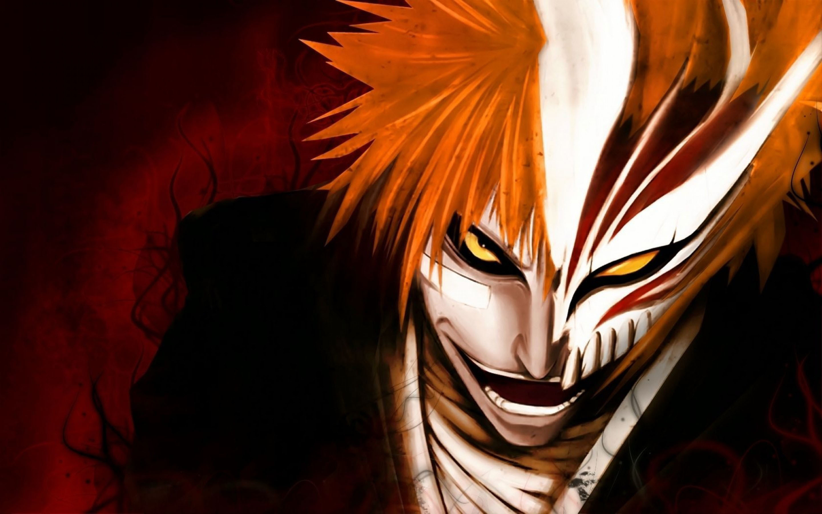 2880x1800 Bleach Wallpaper Hollow