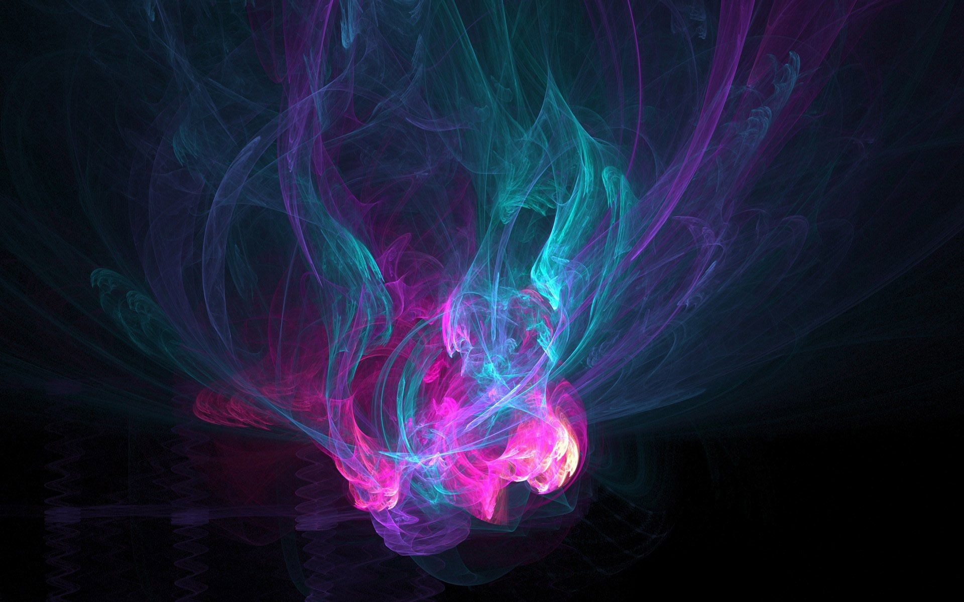 Hd Abstract Wallpaper Neon Smoke 71 Images
